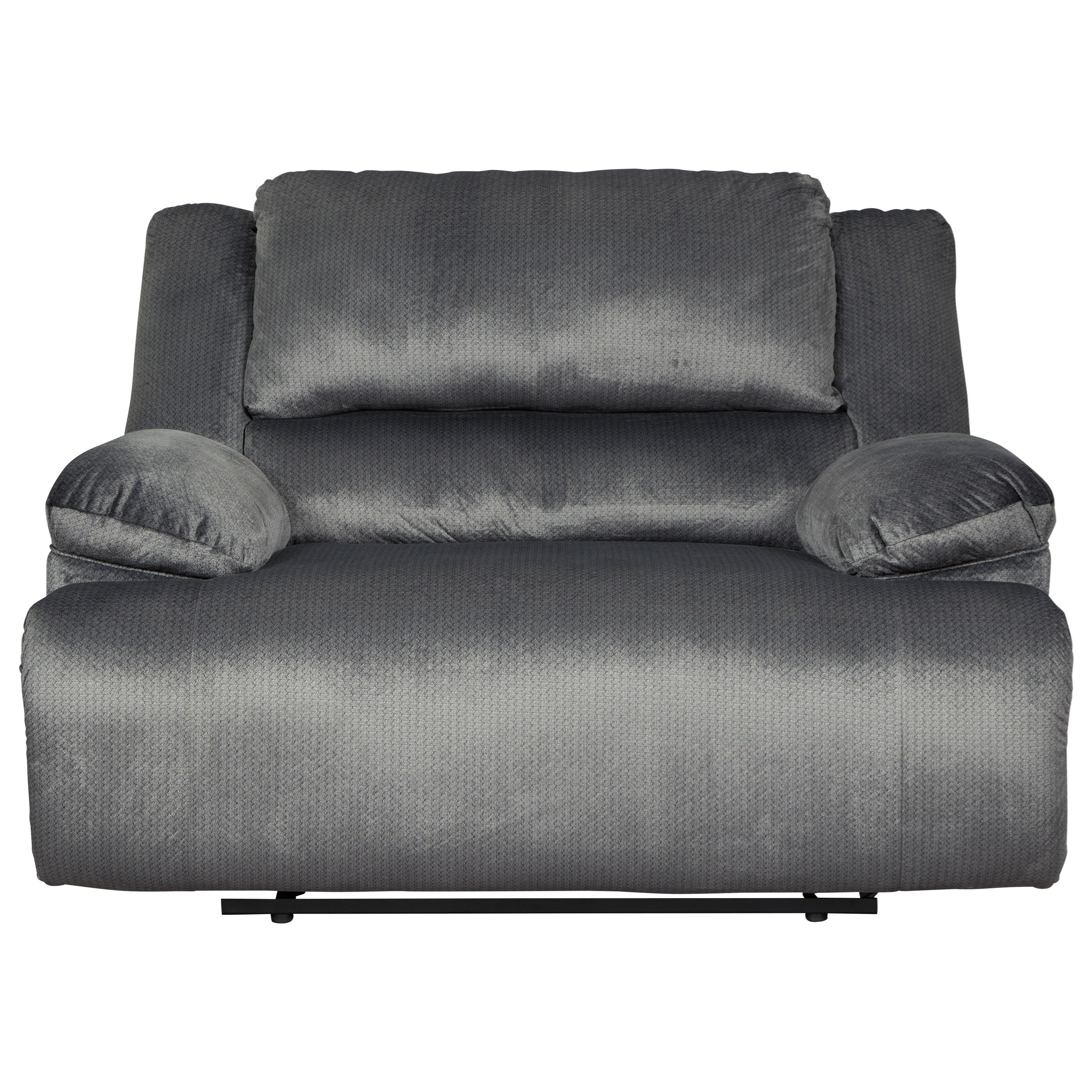 Clonmel Zero Wall Power Wide Recliner by Signature Design by Ashley at Household Furniture