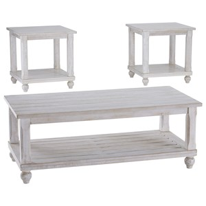 Cottage Three Piece Occasional Table Set