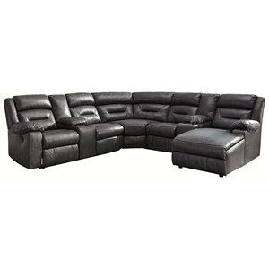 7-Piece Sectional with Storage Consoles