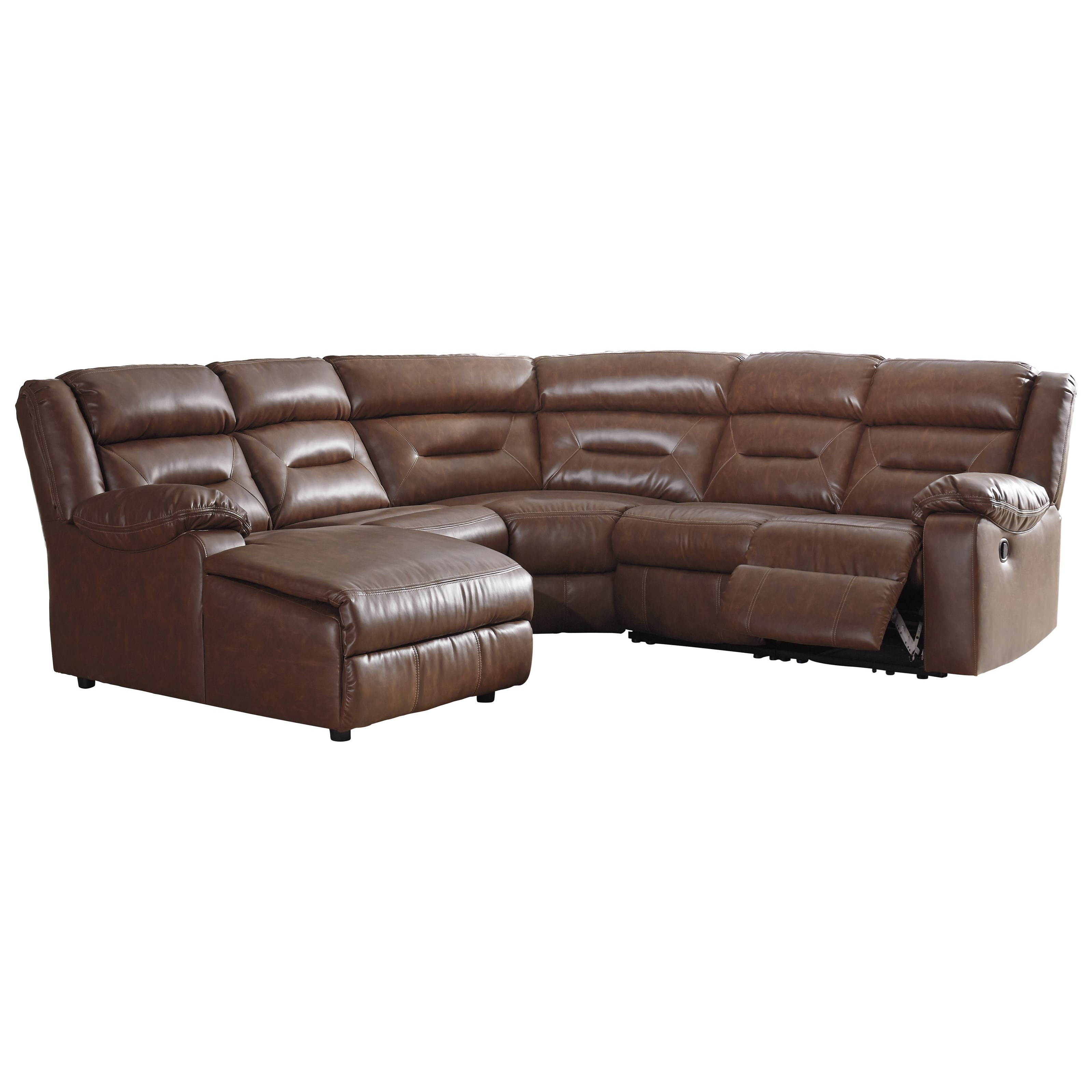 Coahoma 5 Piece Sectional by Signature Design by Ashley at Lapeer Furniture & Mattress Center