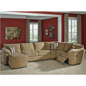 Signature Design by Ashley Coats 4-Piece Reclining Sectional