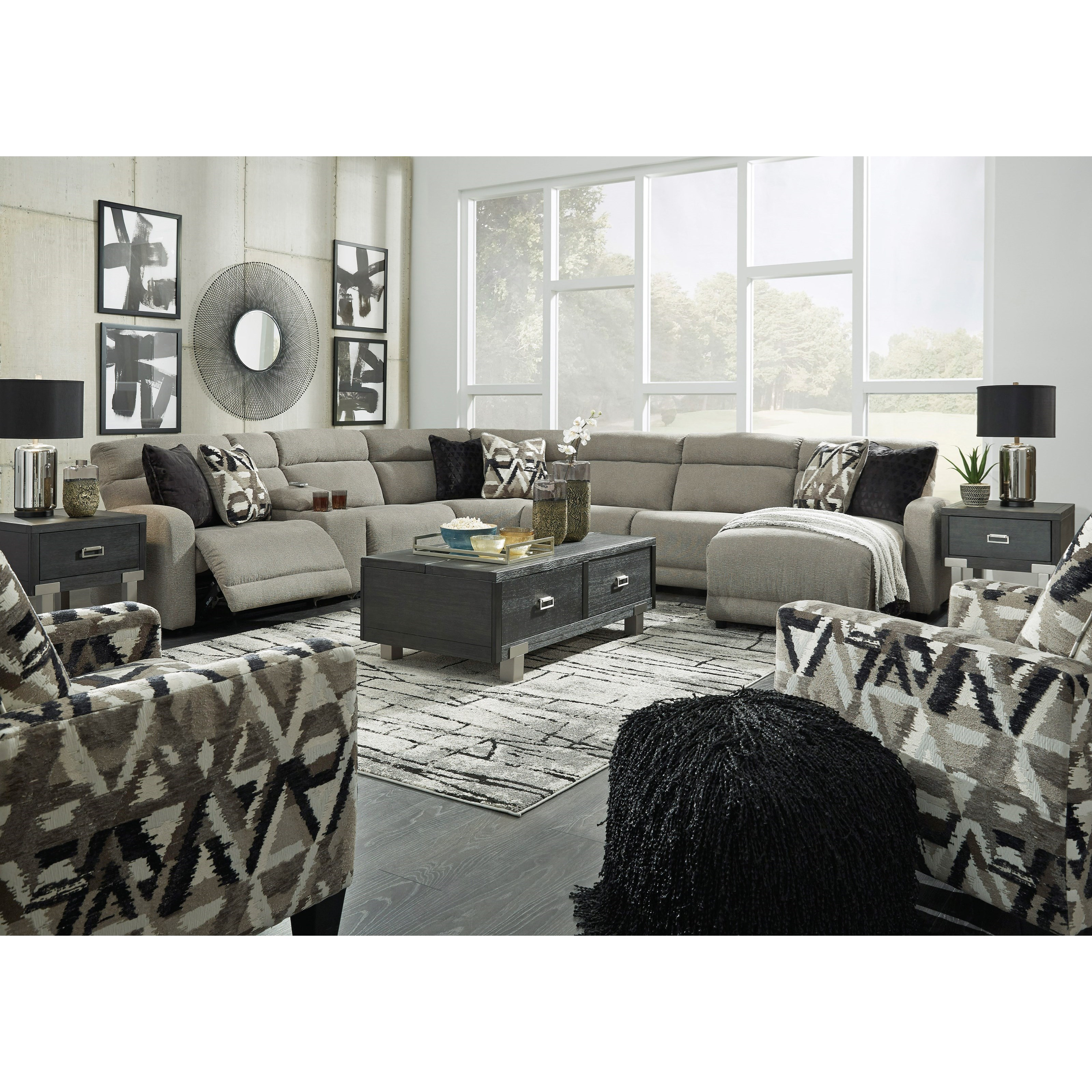 Colleyville Power Reclining Living Room Group by Ashley (Signature Design) at Johnny Janosik