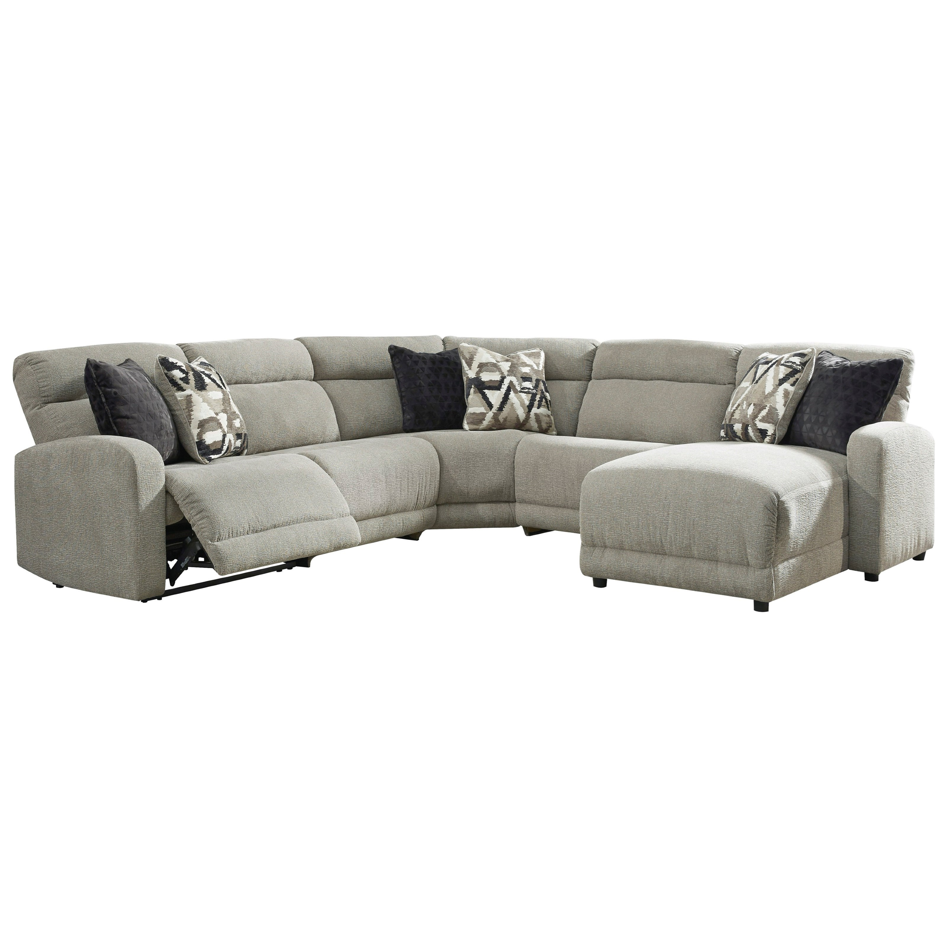 Colleyville Power Reclining Sectional by Signature Design by Ashley at Zak's Warehouse Clearance Center