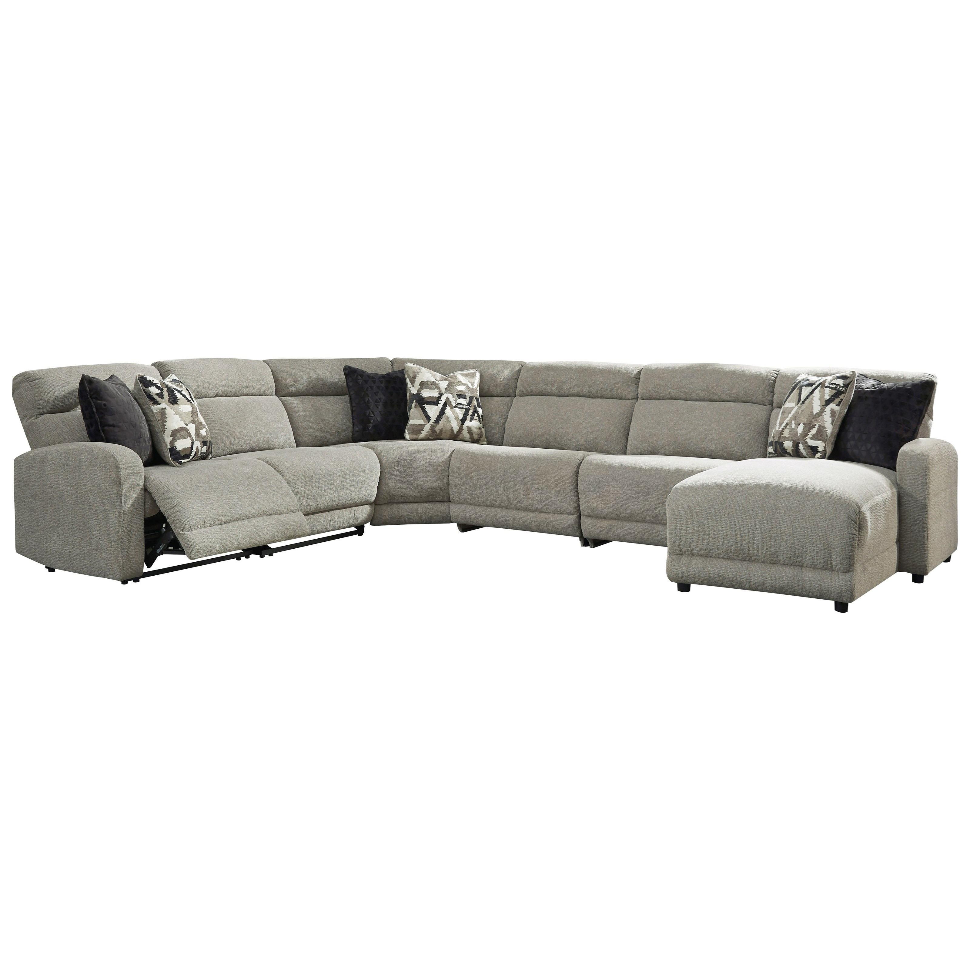 Colleyville Power Reclining Sectional by Signature Design by Ashley at Value City Furniture