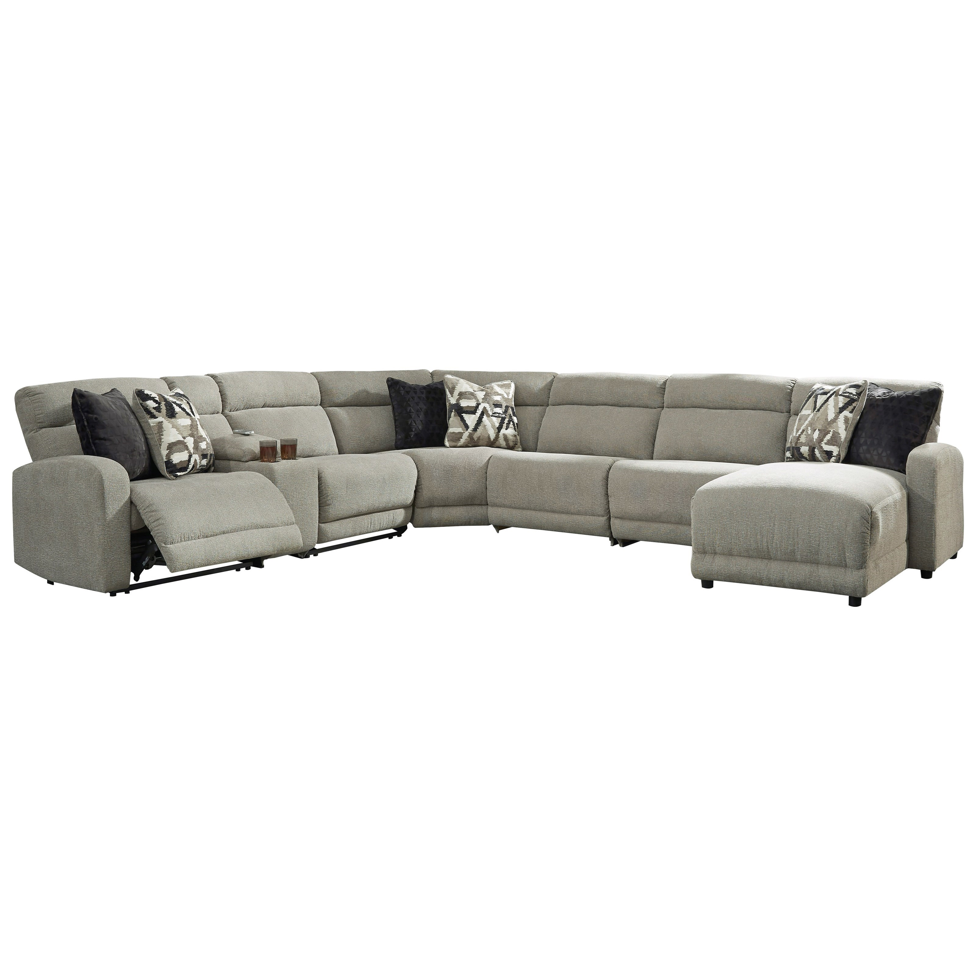 Colleyville Power Reclining Sectional by Signature Design by Ashley at Northeast Factory Direct
