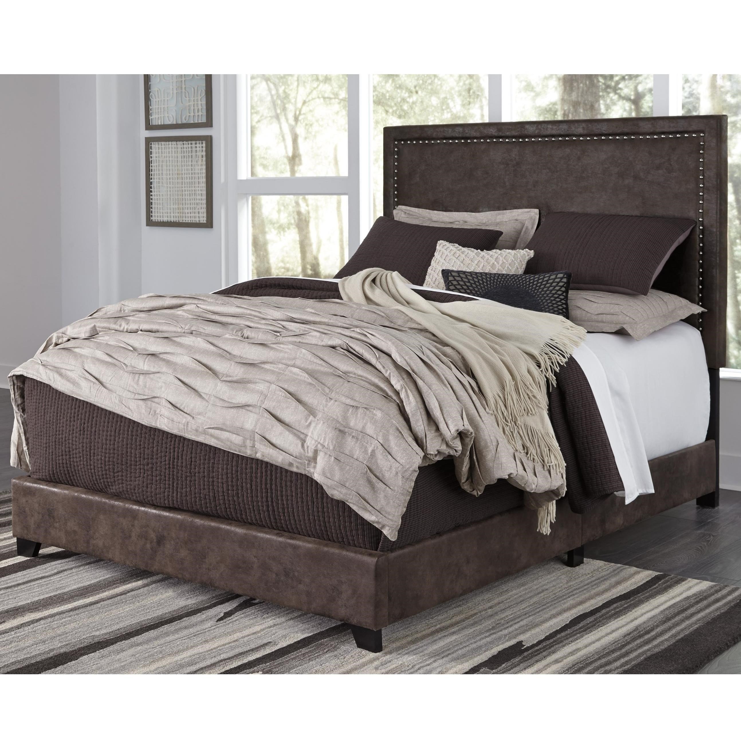 Dolante King Upholstered Bed  by Signature Design by Ashley at Standard Furniture