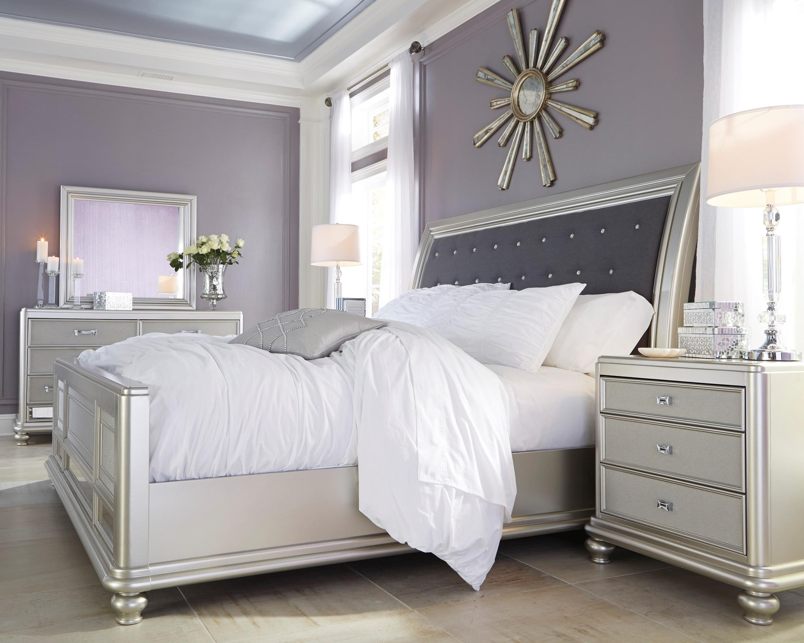 Coralayne King Bedroom Group by Signature Design by Ashley at Westrich Furniture & Appliances