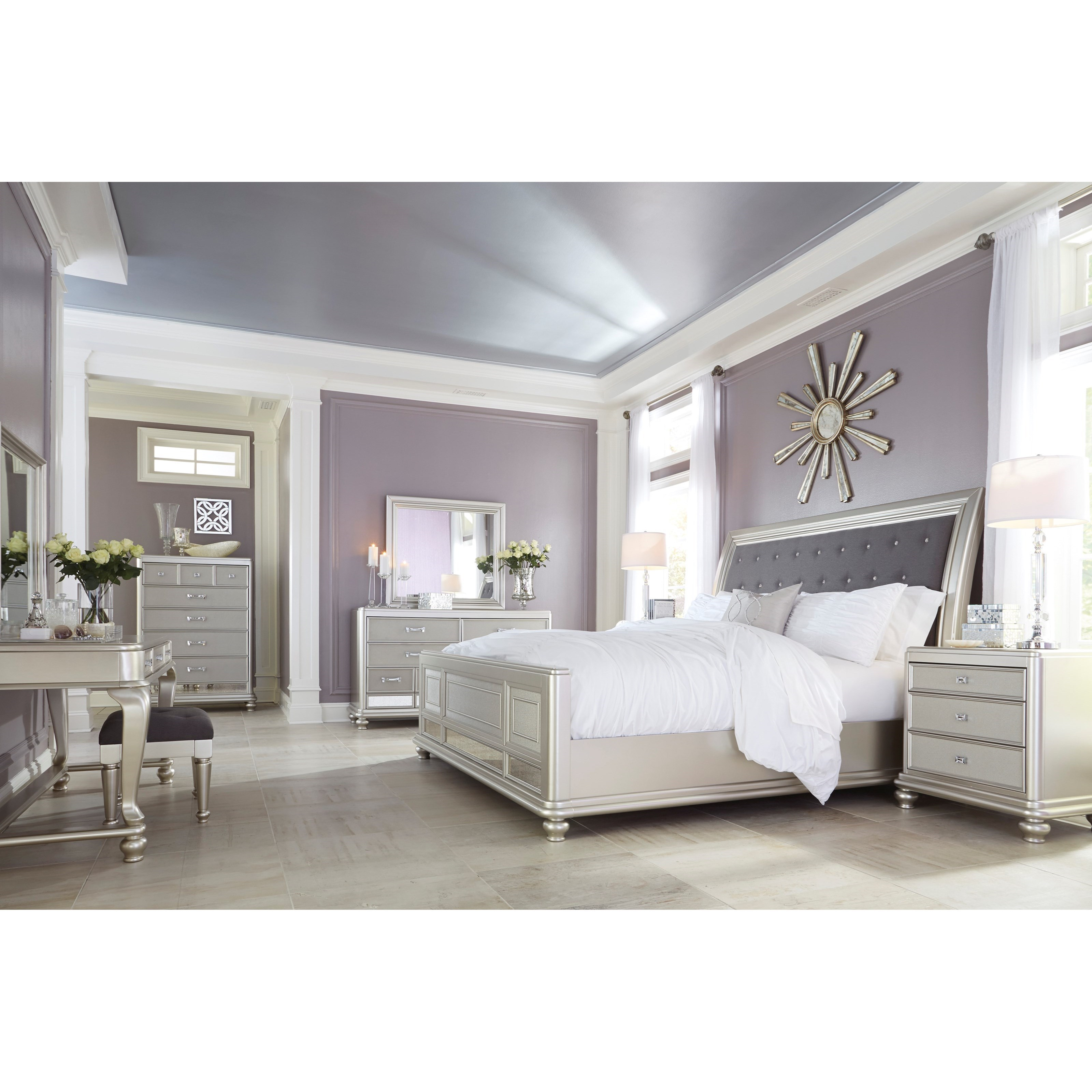 Coralayne Queen Bedroom Group by Signature Design by Ashley at Northeast Factory Direct