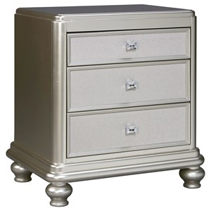 Signature Design by Ashley Coralayne Three Drawer Night Stand