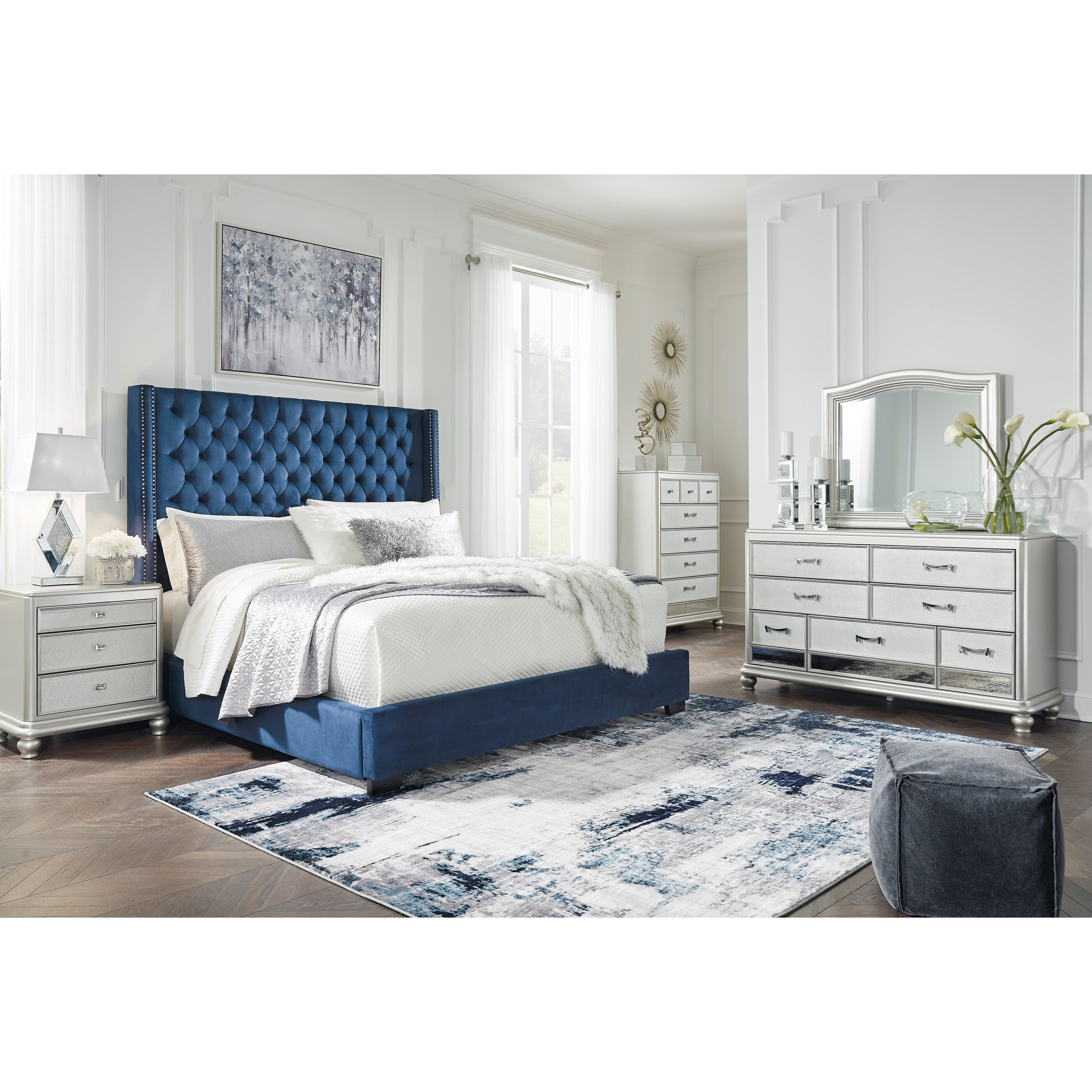 Coralayne California King Bedroom Group by Ashley (Signature Design) at Johnny Janosik