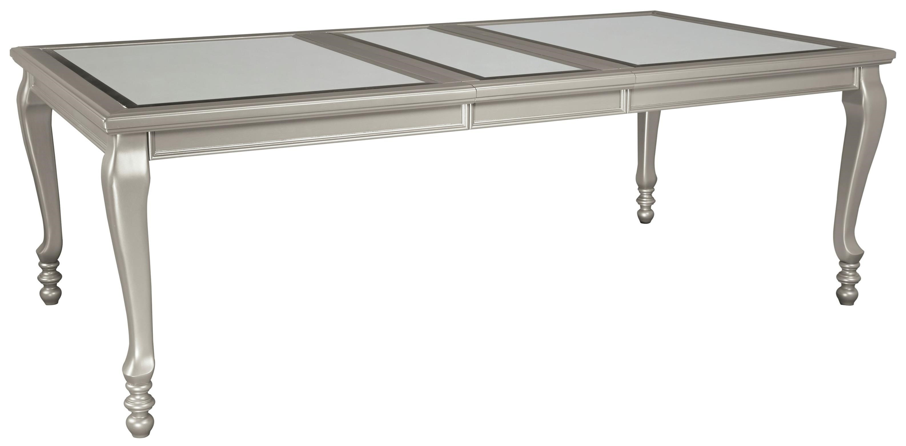 Coralayne Rectangular Dining Room Extension Table by Ashley (Signature Design) at Johnny Janosik