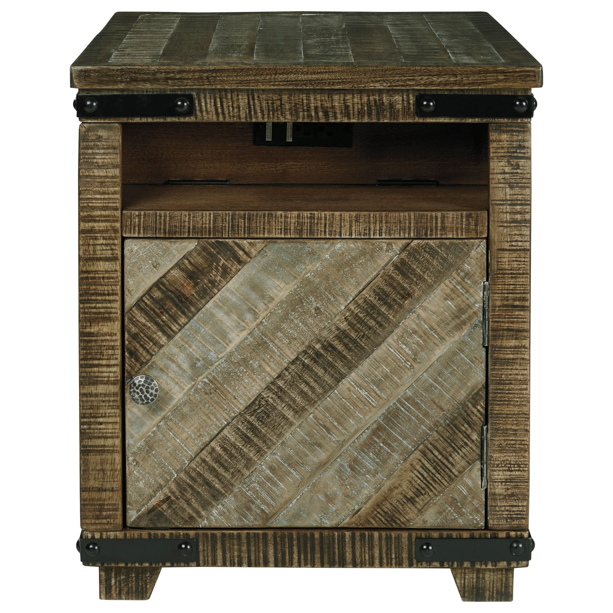 Cordayne Chairside End Table by Ashley (Signature Design) at Johnny Janosik