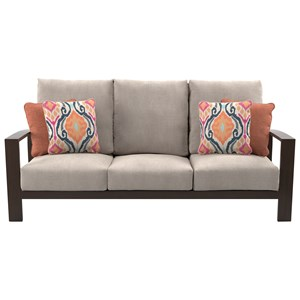 Outdoor Sofa with Cushions