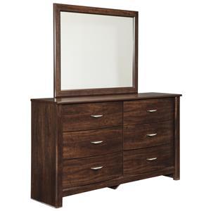 Signature Design by Ashley Corraya Dresser & Bedroom Mirror