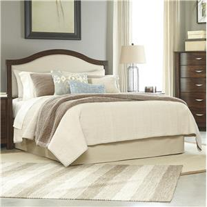 Signature Design by Ashley Corraya Queen Upholstered Panel Headboard