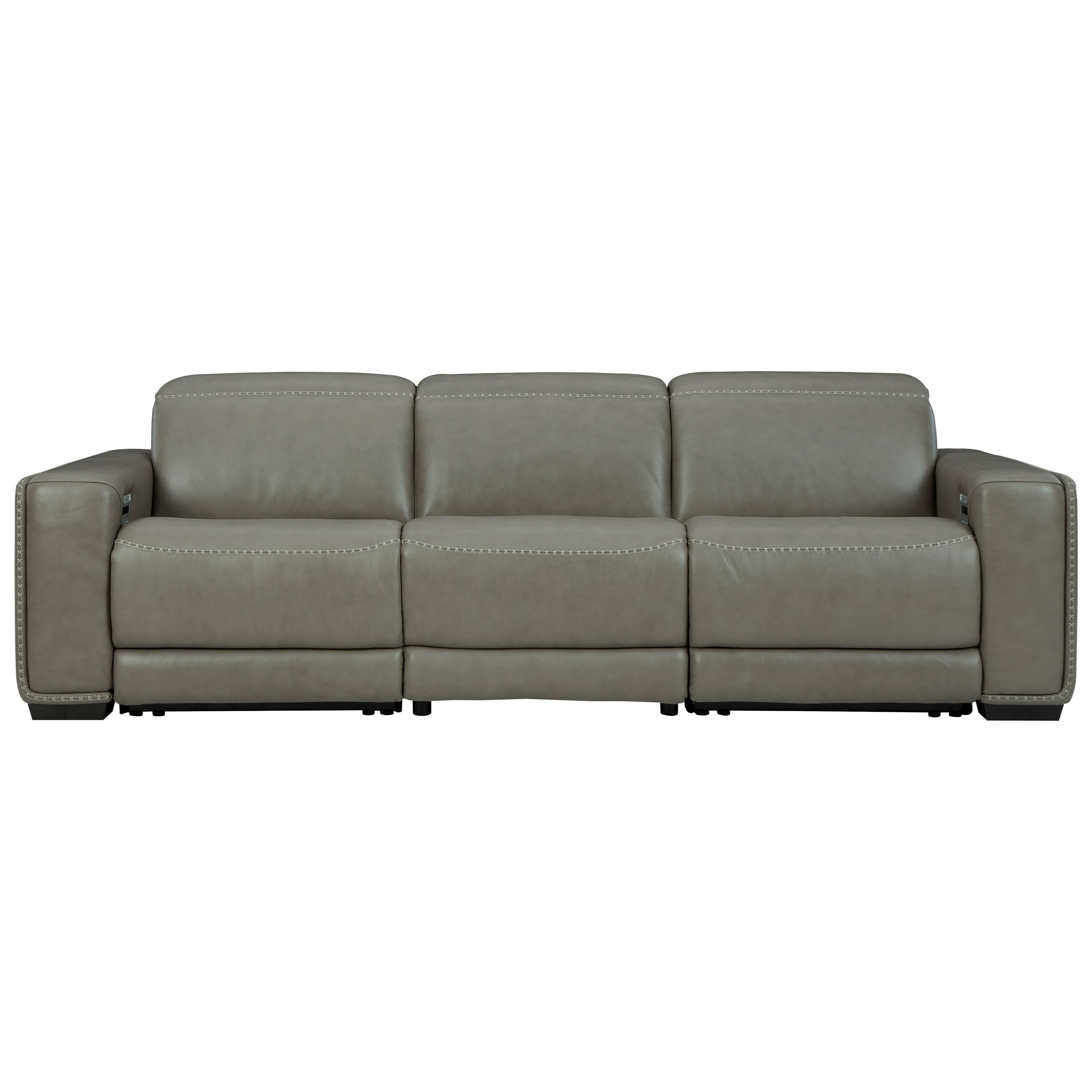 Correze Power Reclining Sofa by Signature Design by Ashley at Beck's Furniture