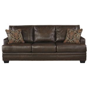 Signature Design by Ashley Corvan Queen Sofa Sleeper