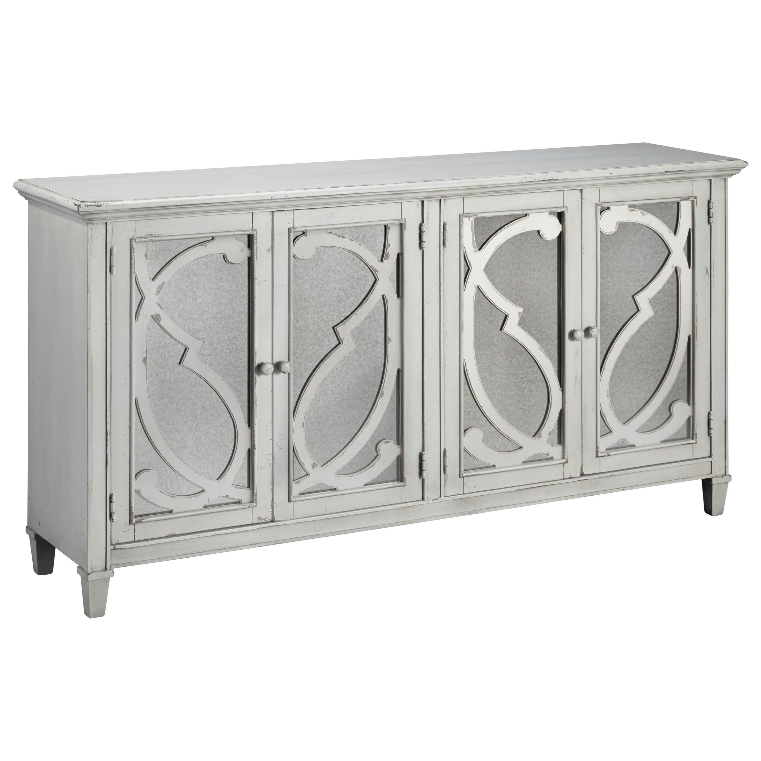 Mirimyn Door Accent Cabinet by Signature at Walker's Furniture