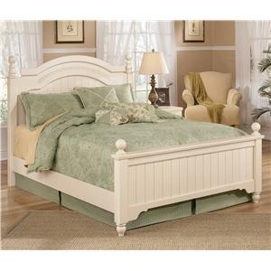 Signature Design by Ashley Cottage Retreat Queen Size Poster Bed