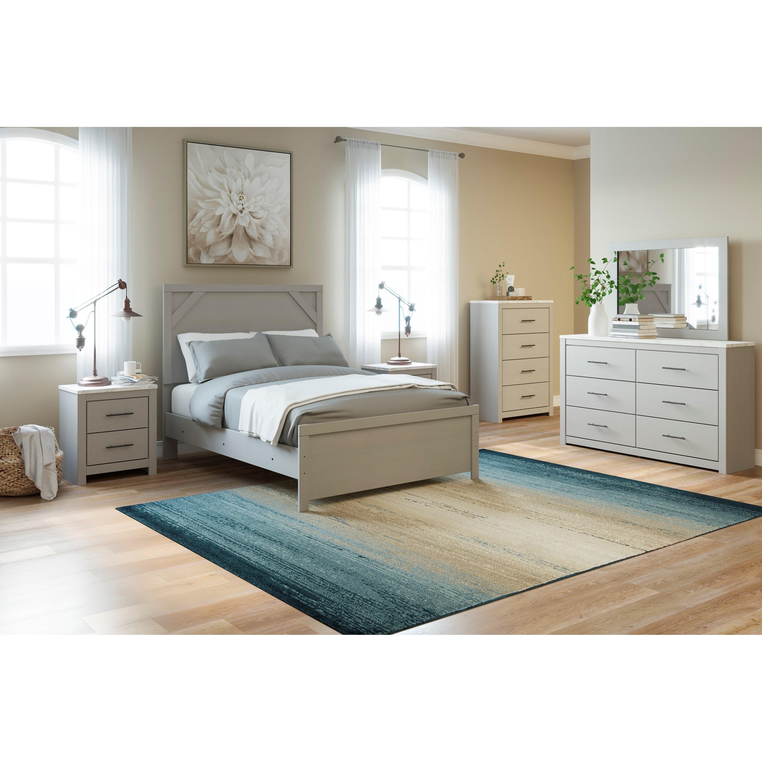 Cottenburg Full Bedroom Group by Ashley (Signature Design) at Johnny Janosik