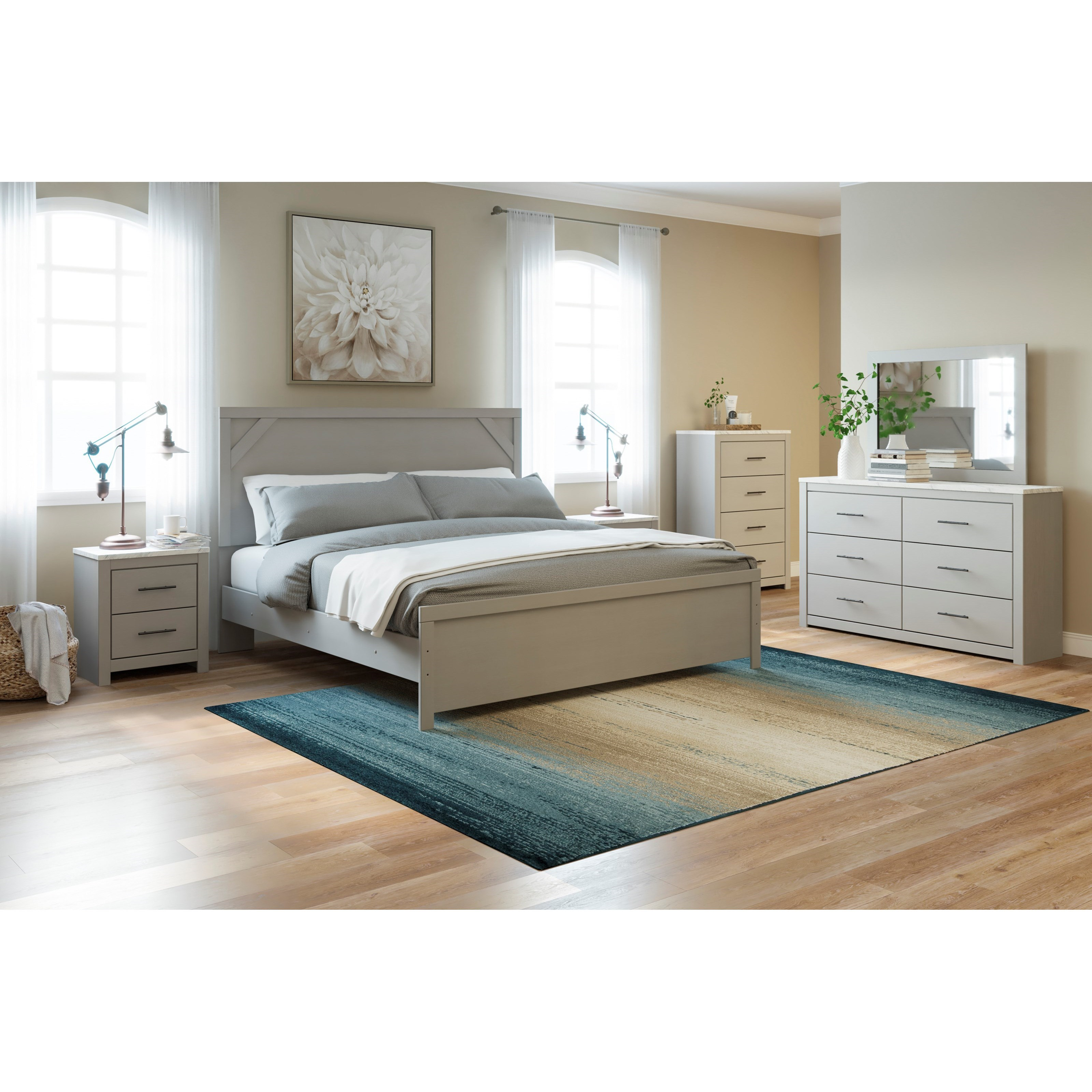 Cottenburg King Bedroom Group by Signature Design by Ashley at Household Furniture