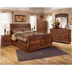 Signature Design by Ashley Timberline 4 Piece Bedroom Group