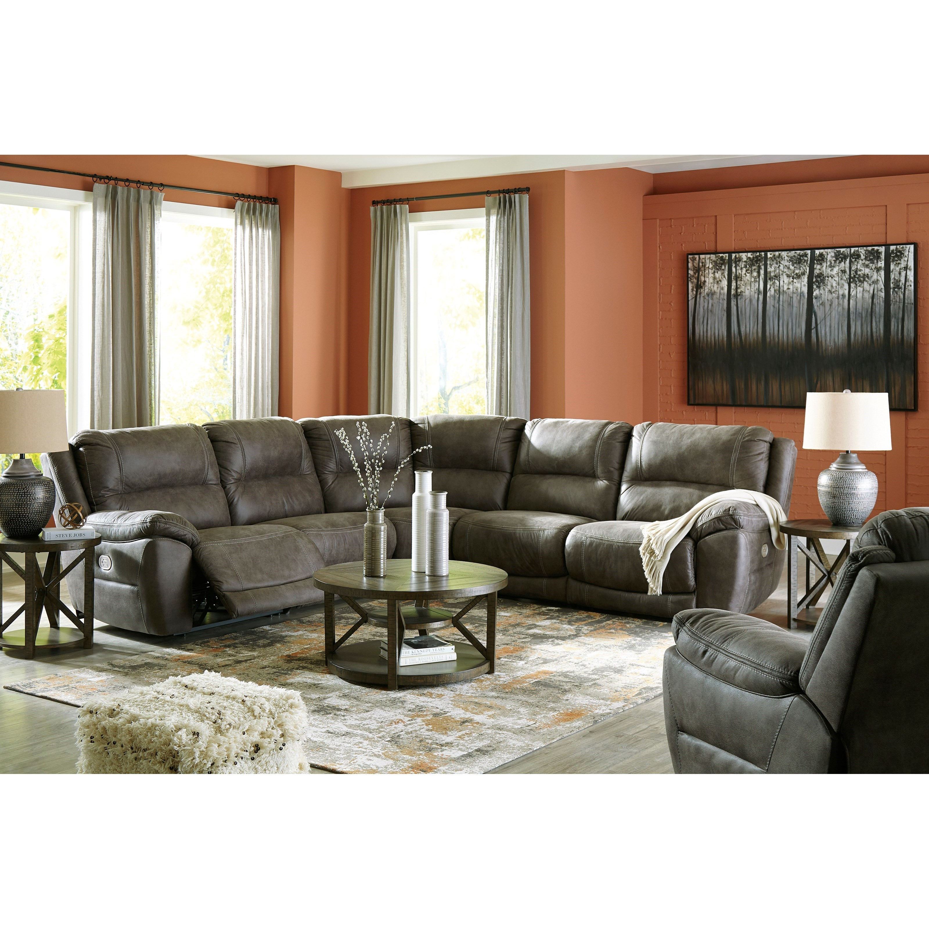 Cranedall Power Reclining Living Room Group by Ashley (Signature Design) at Johnny Janosik