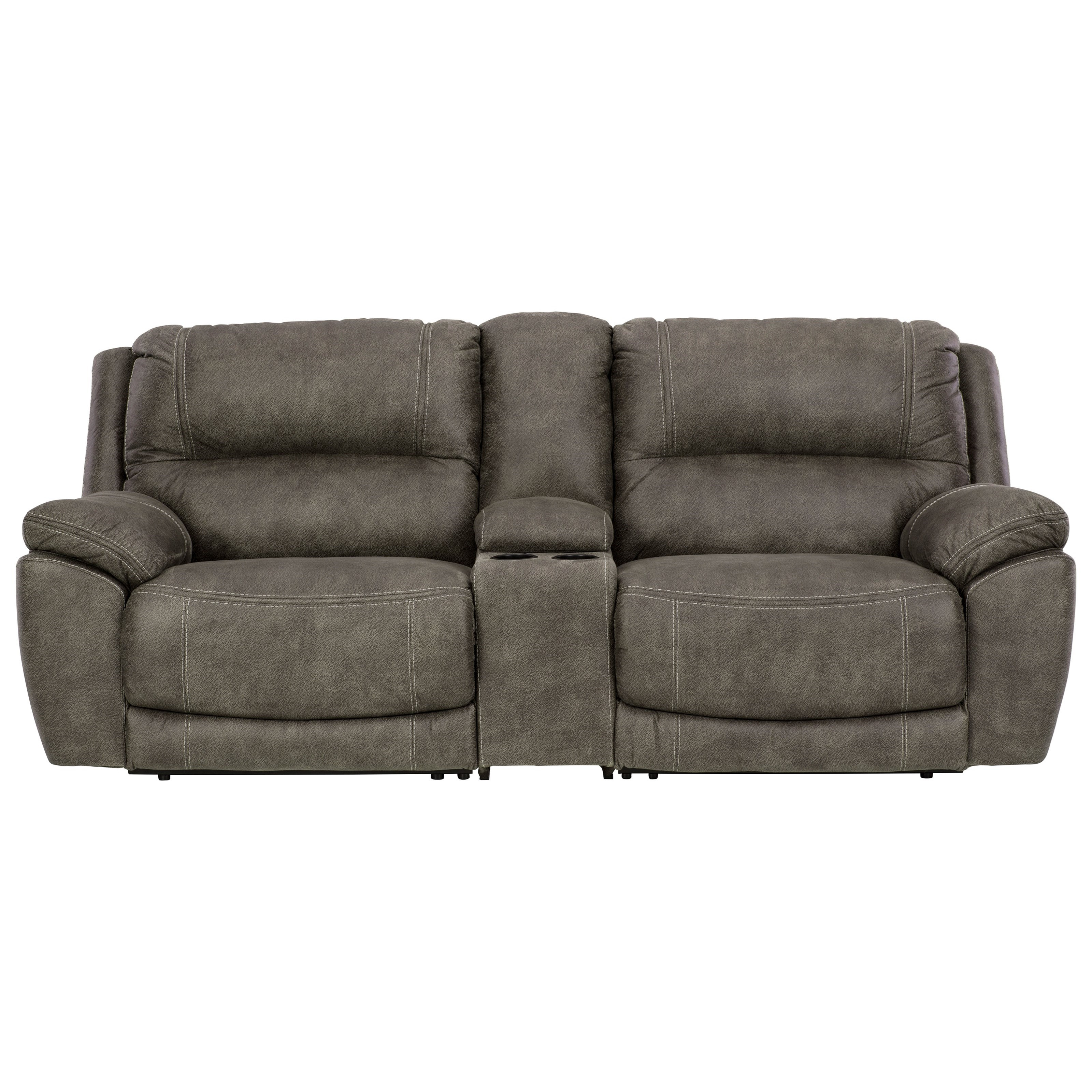 Cranedall Power Reclining Loveseat w/ Console by Ashley (Signature Design) at Johnny Janosik