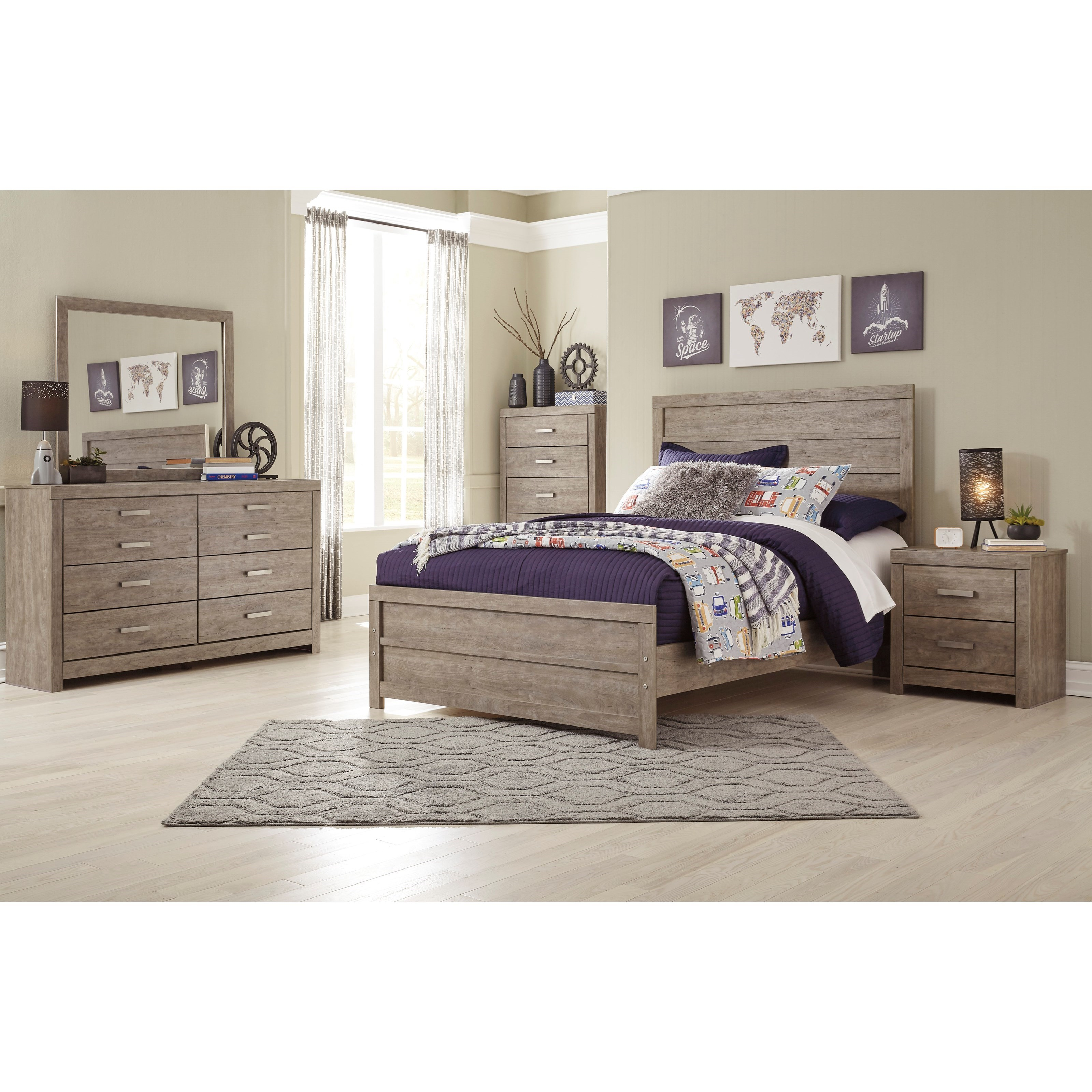 Culverbach Full Bedroom Group by Ashley (Signature Design) at Johnny Janosik