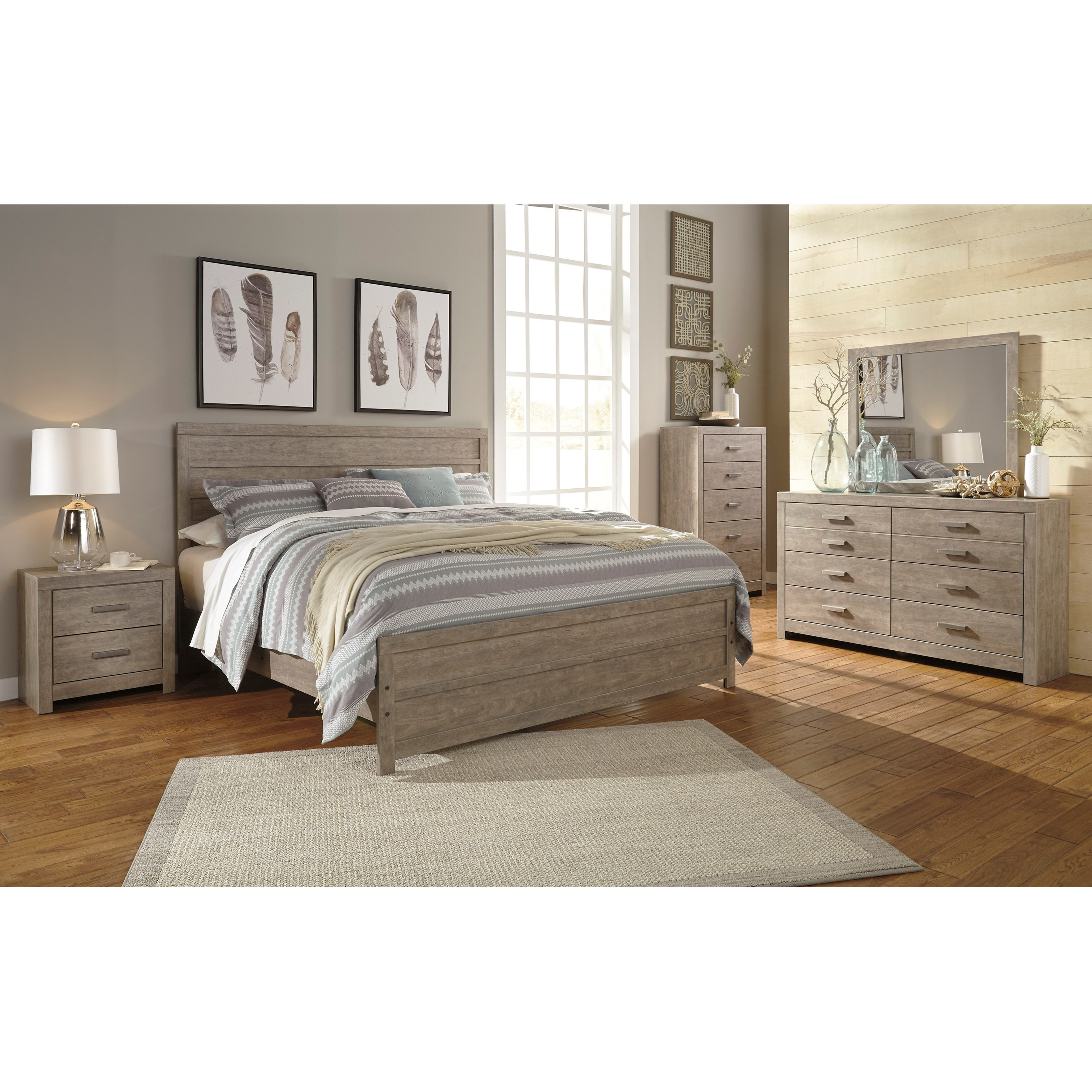 Culverbach King Bedroom Group by Signature Design by Ashley at Smart Buy Furniture