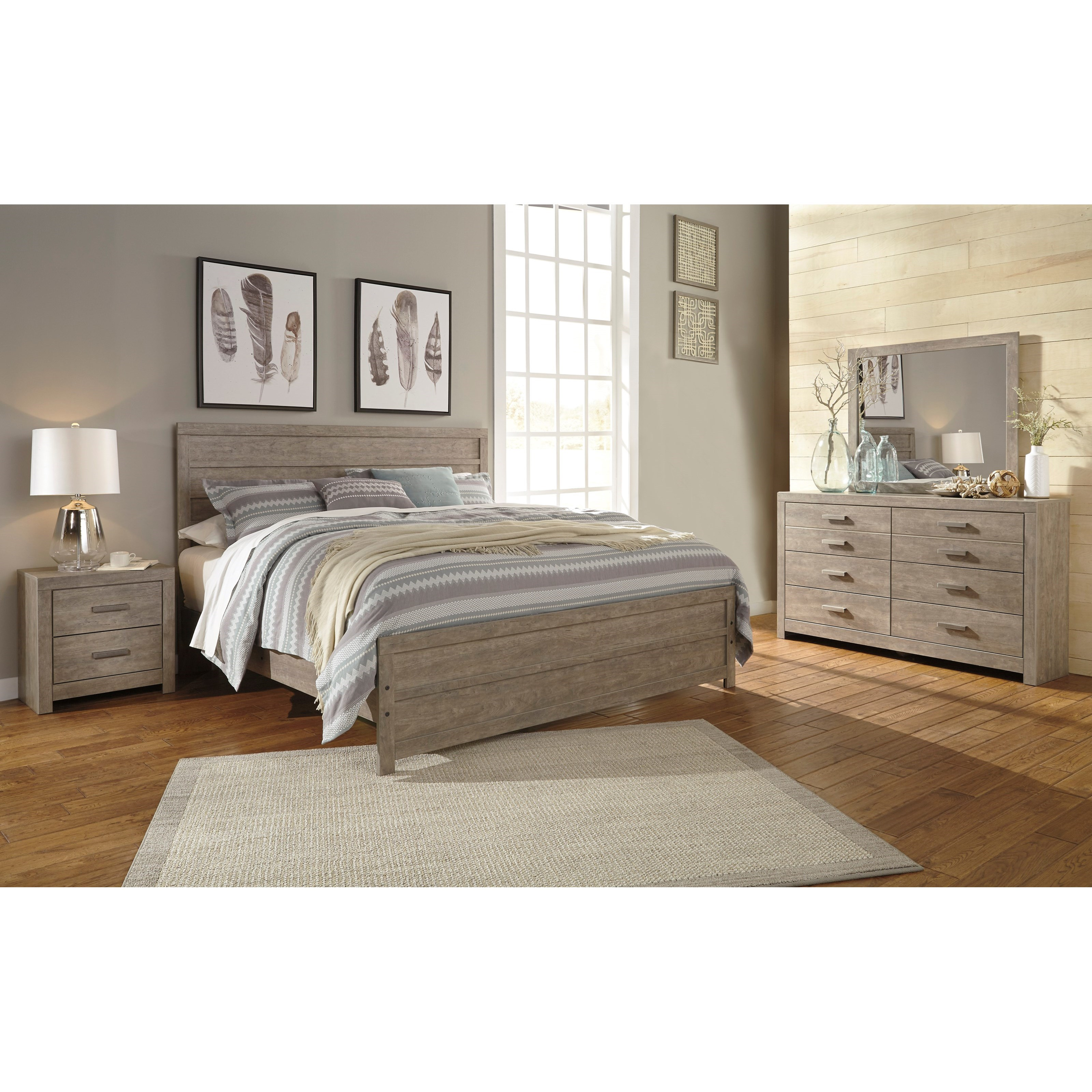 Culverbach King Bedroom Group by Ashley (Signature Design) at Johnny Janosik