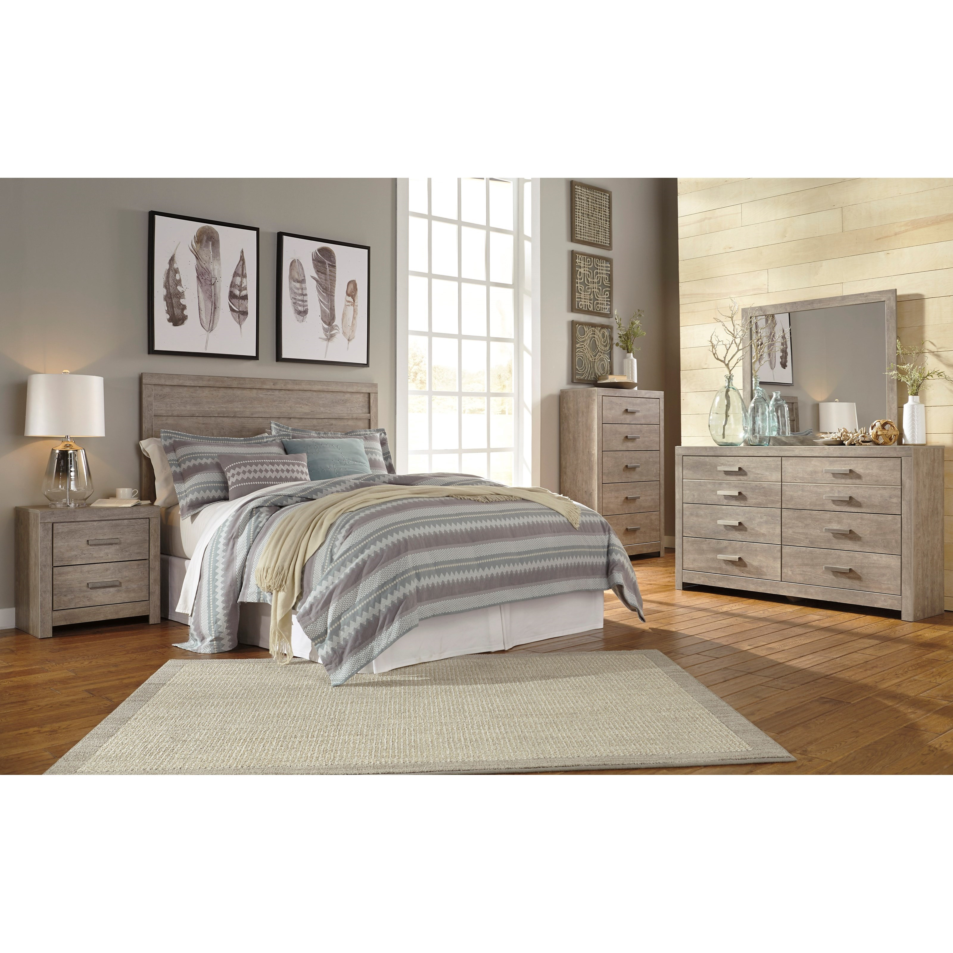 Culverbach Queen/Full Bedroom Group by Signature Design by Ashley at Home Furnishings Direct