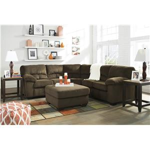 Signature Design by Ashley Dailey Stationary Living Room Group