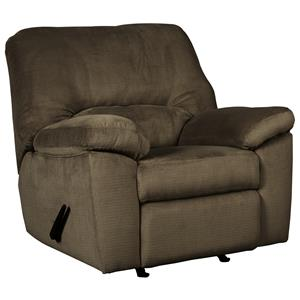 Casual Contemporary Rocker Recliner