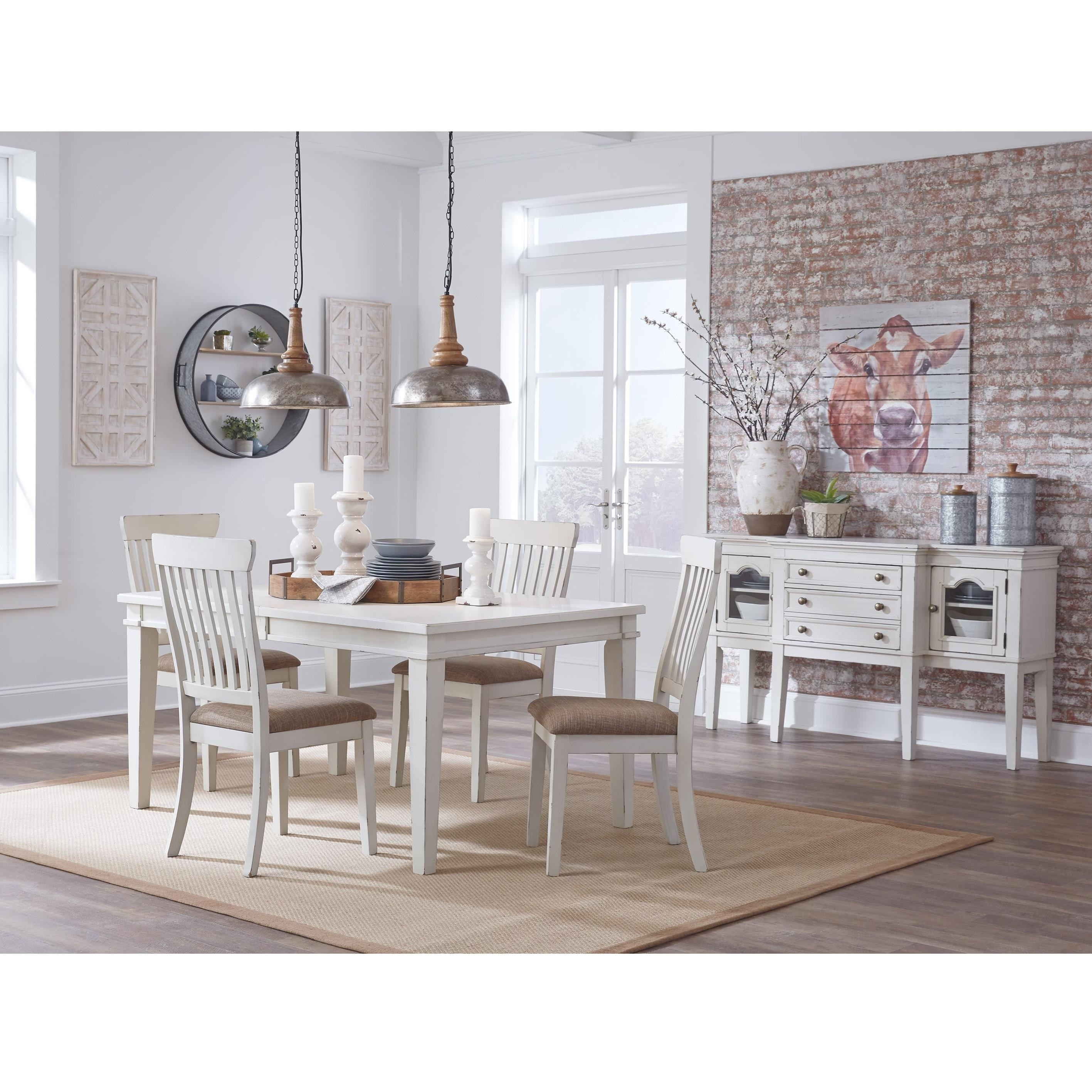 Danbeck Formal Dining Room Group by Signature Design by Ashley at Lapeer Furniture & Mattress Center