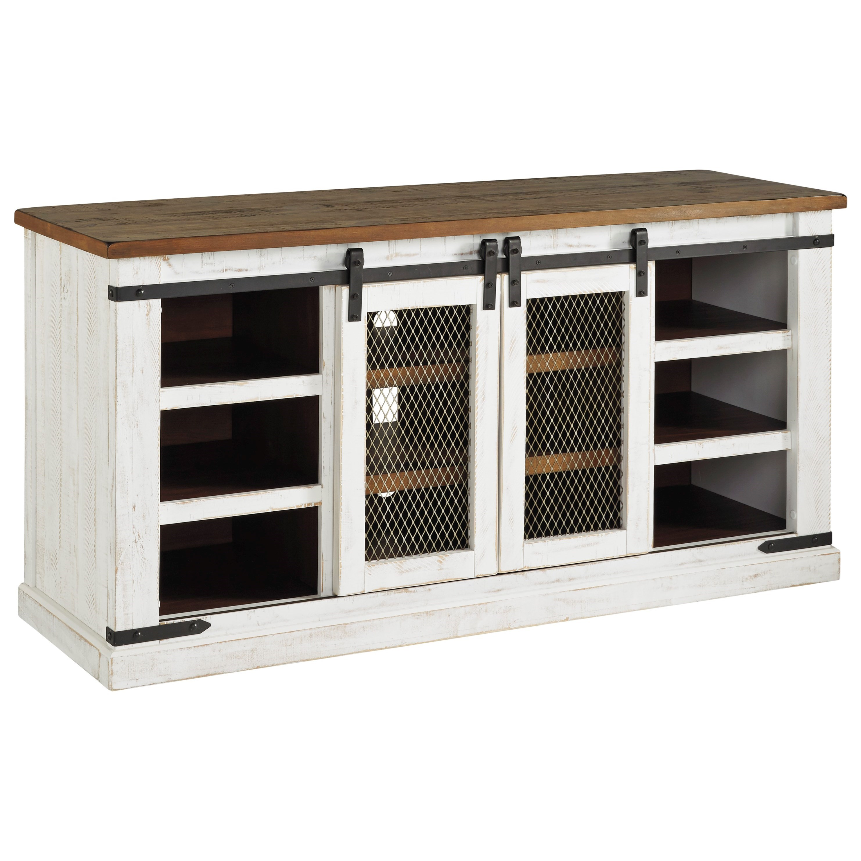 Wystfield Large TV Stand by Signature Design by Ashley at Beck's Furniture