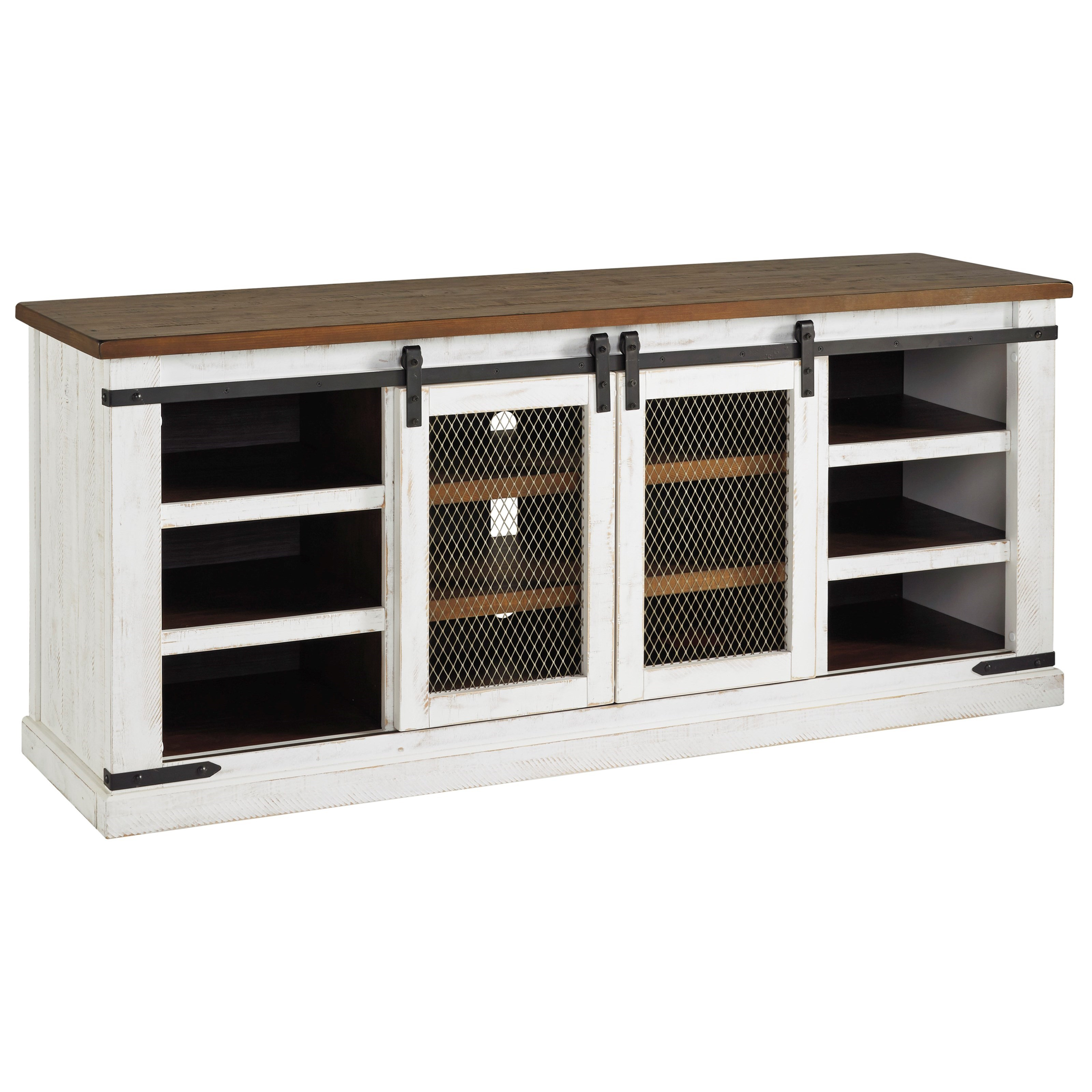 Wystfield Extra Large TV Stand by Signature Design by Ashley at Northeast Factory Direct