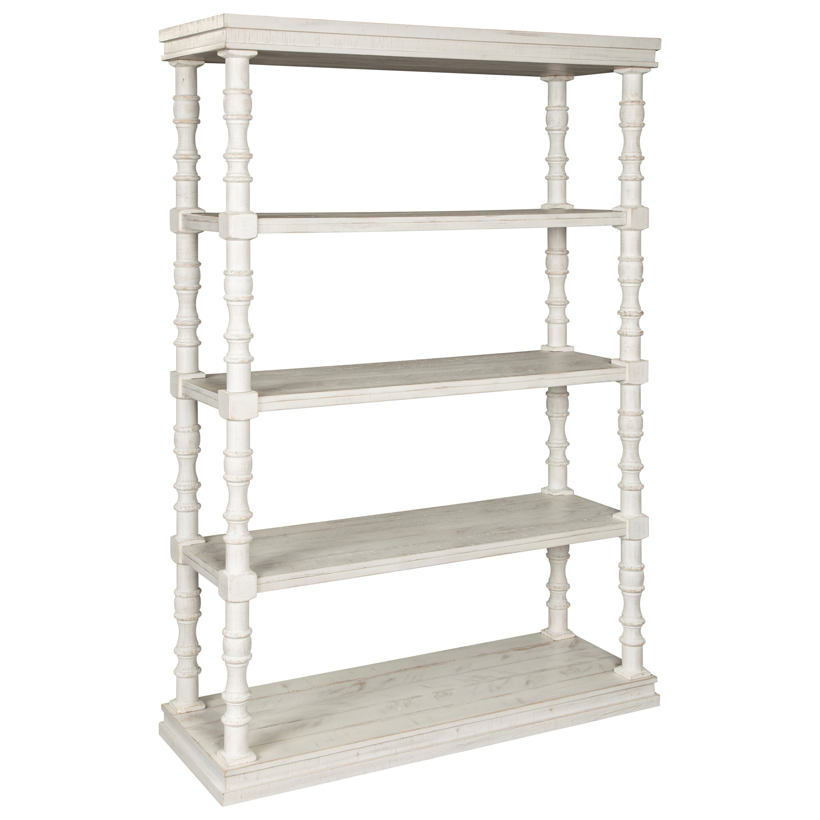 Dannerville Bookcase by Signature Design by Ashley at Lapeer Furniture & Mattress Center