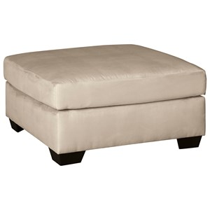 Contemporary Oversized Accent Ottoman