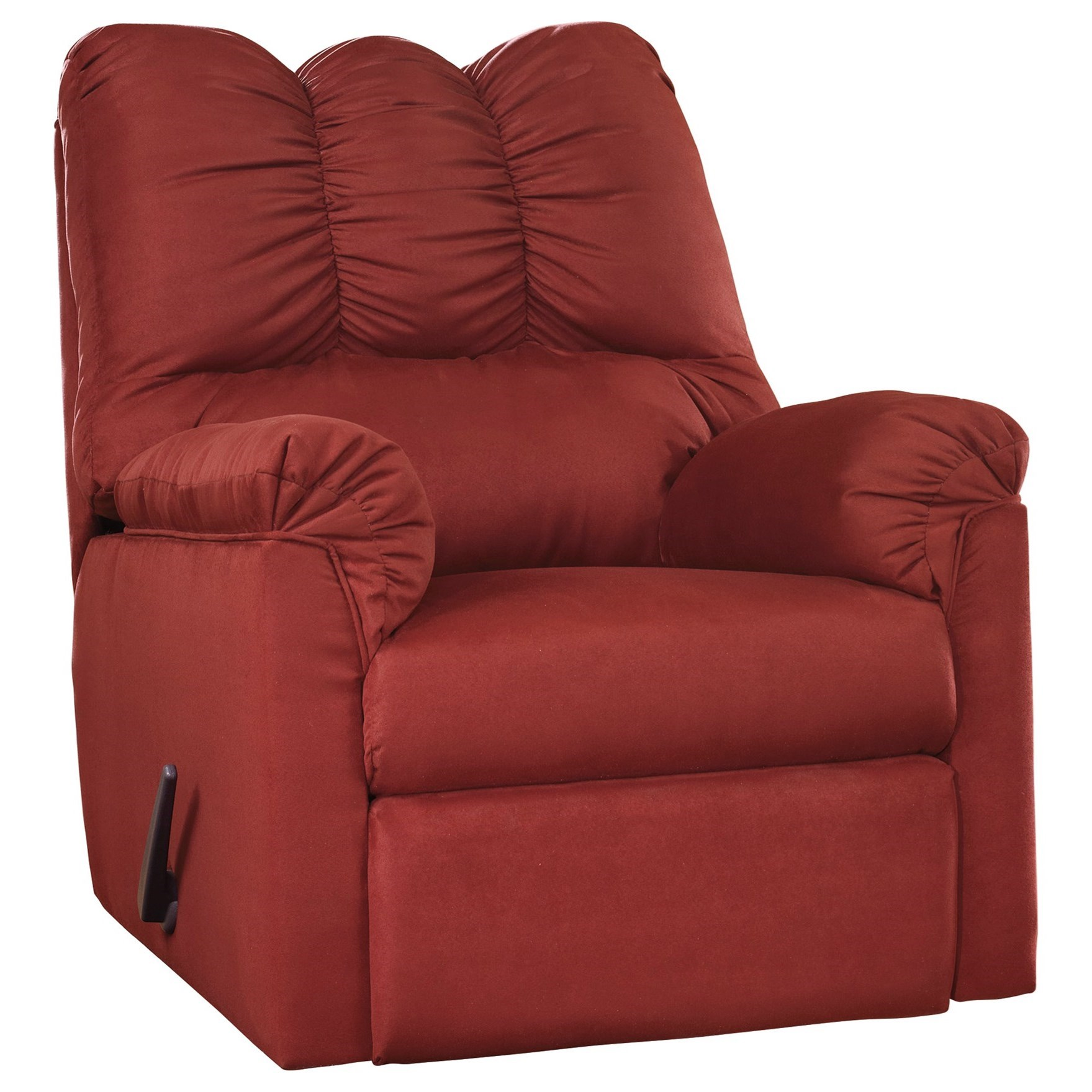 Darcy - Salsa Darcy Rocker Recliner by Ashley at Morris Home