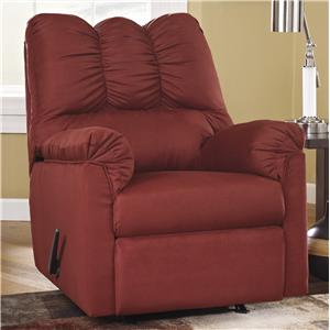 Signature Design by Ashley Darcy - Salsa Rocker Recliner