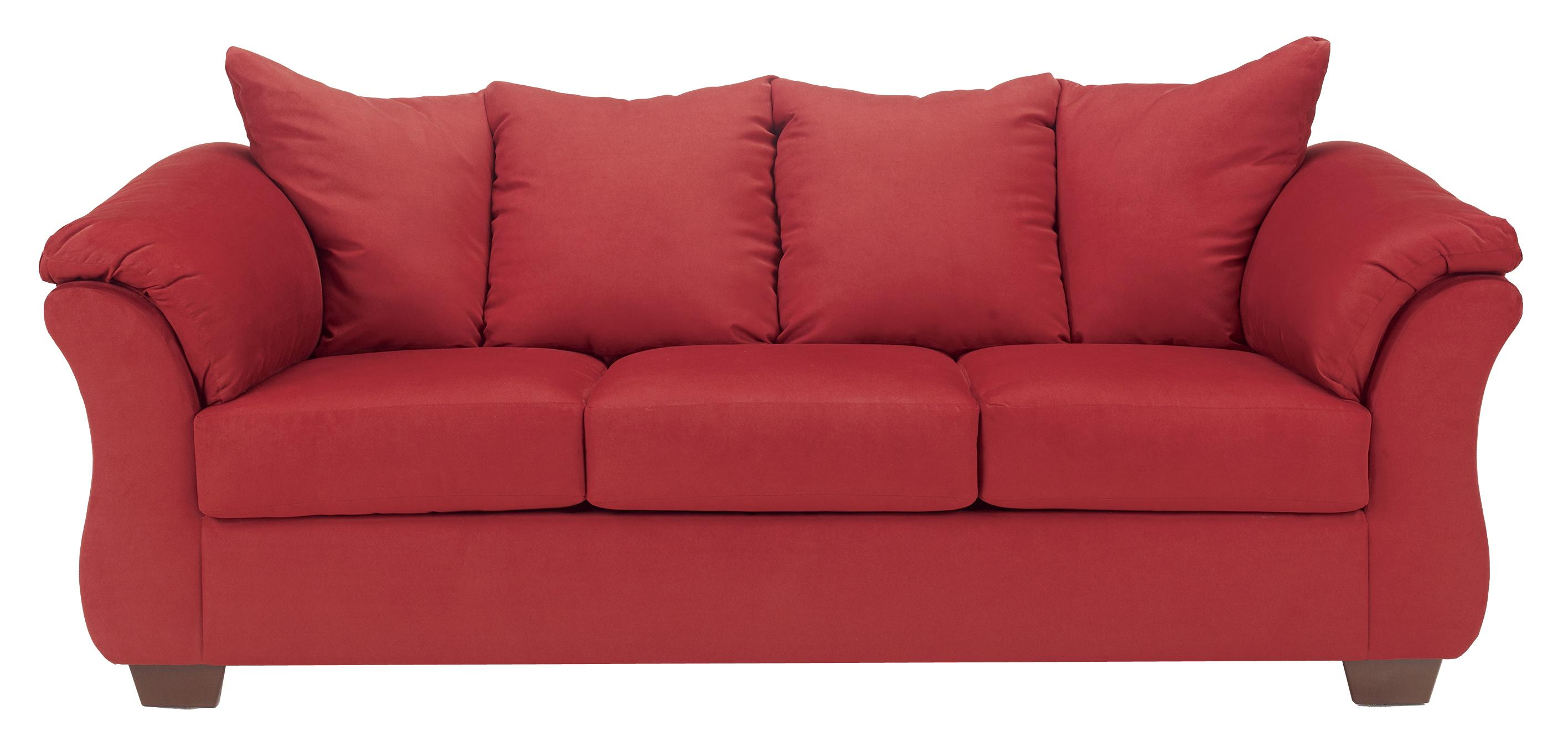 Darcy - Salsa Stationary Sofa by Ashley (Signature Design) at Johnny Janosik