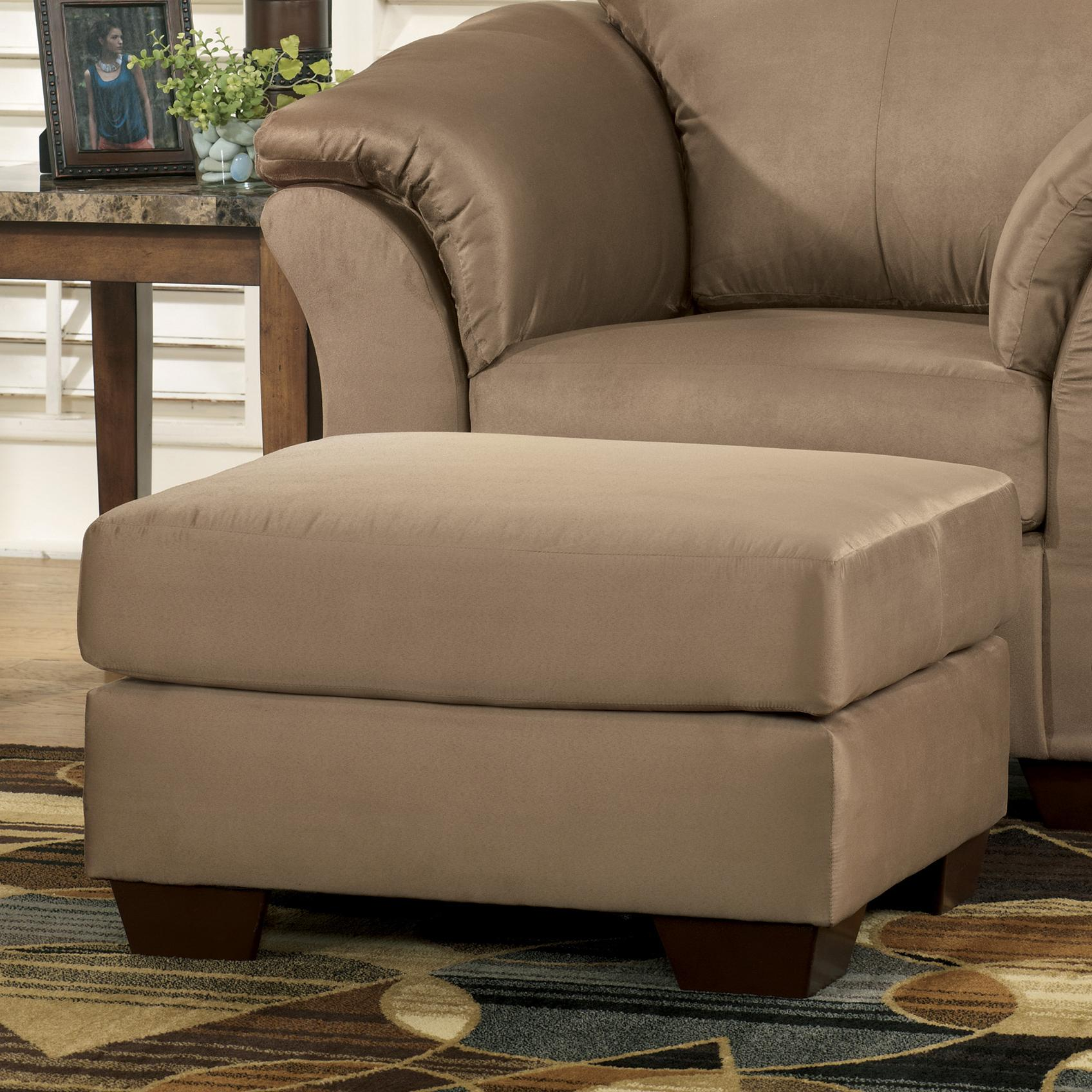 Darcy - Mocha Ottoman by Signature Design by Ashley at Sam Levitz Outlet