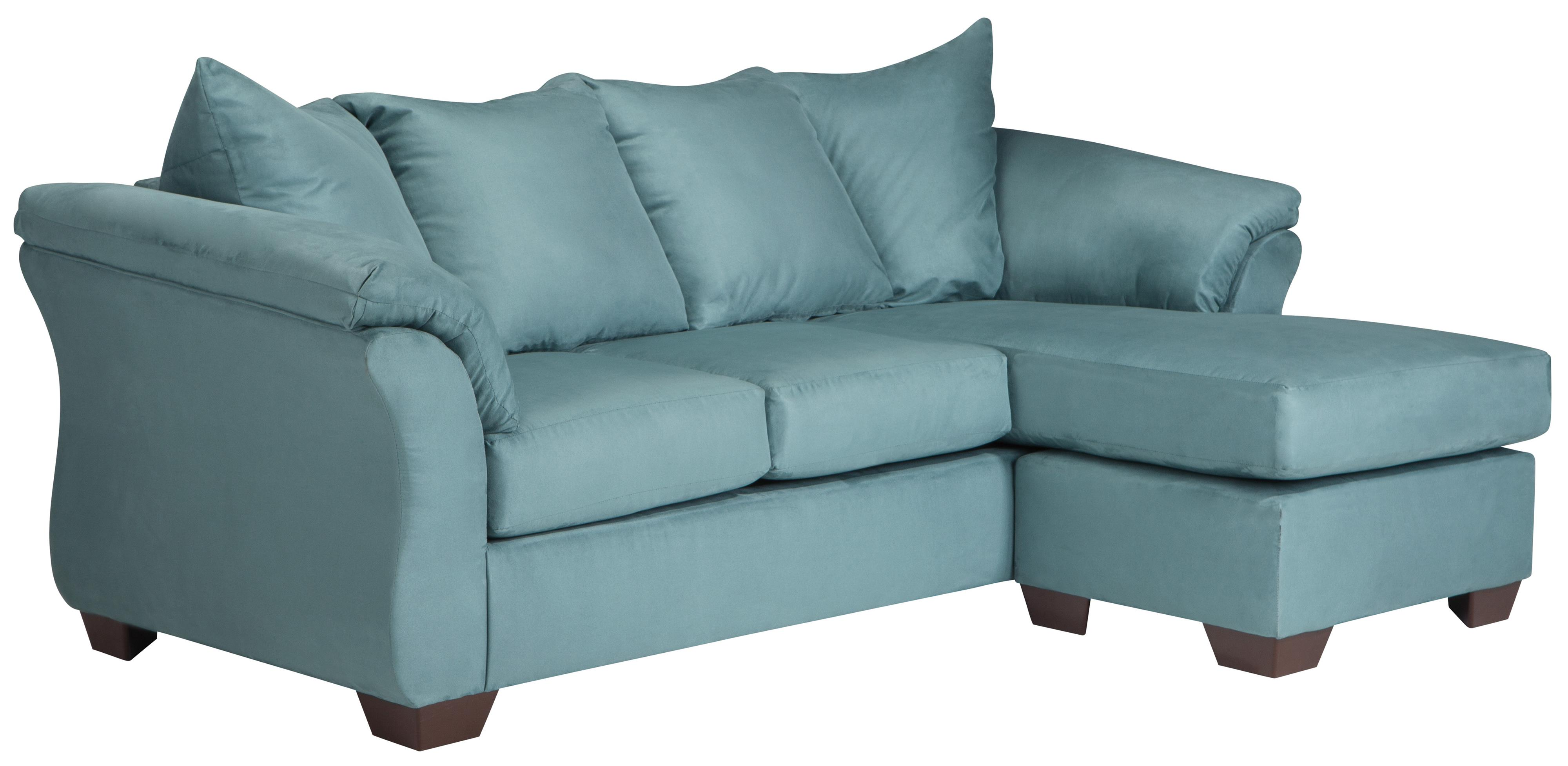 Darcy - Sky Sofa Chaise by Ashley at Morris Home