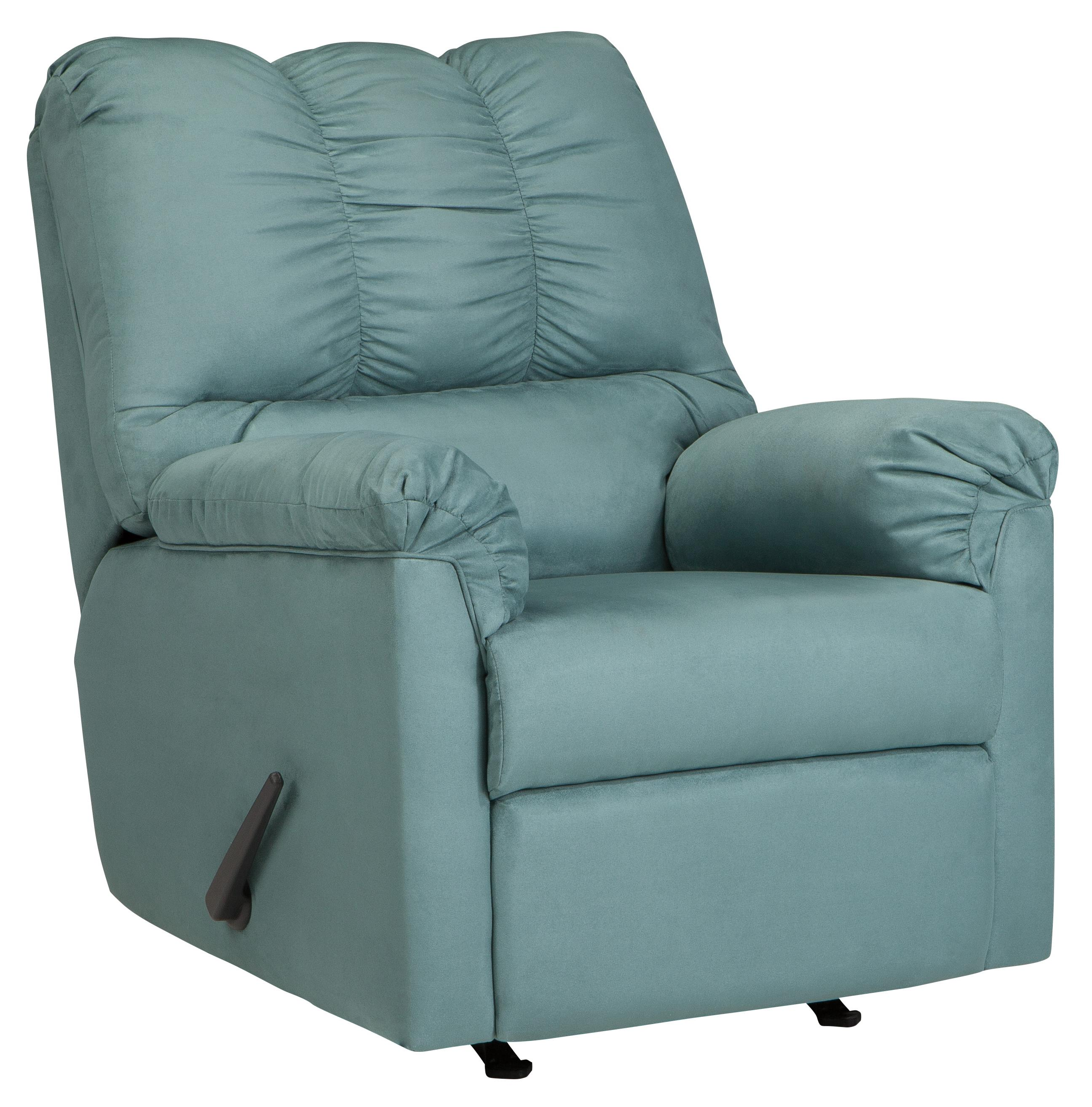 Darcy - Sky Rocker Recliner by Signature Design by Ashley at Suburban Furniture