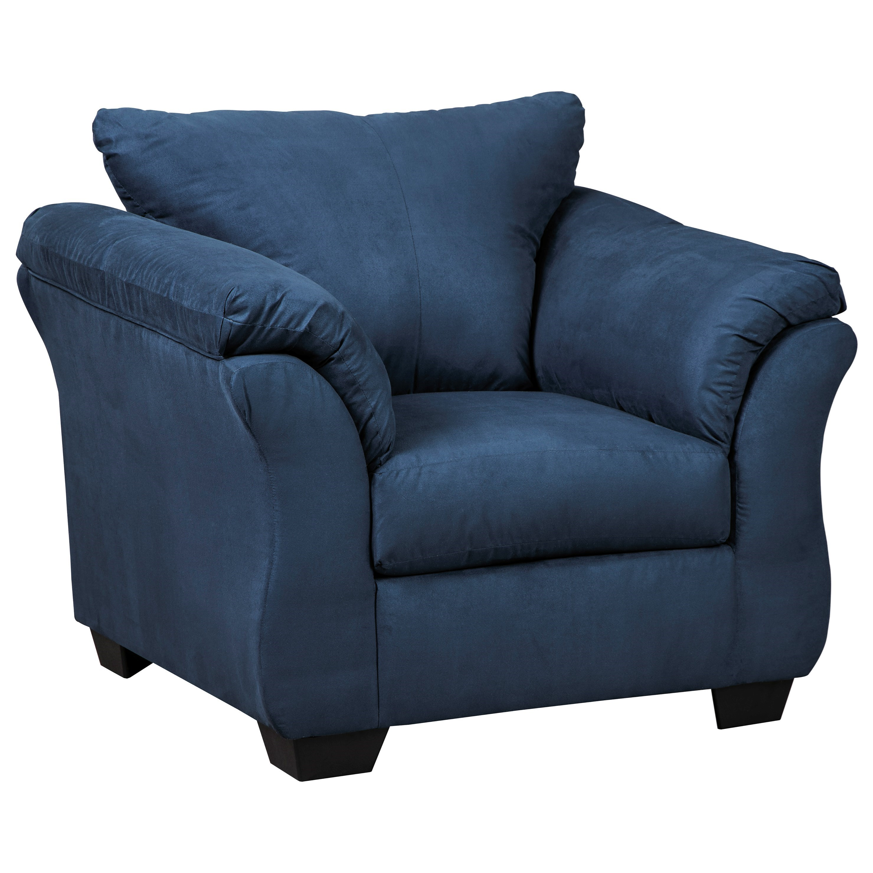 Darcy - Blue Upholstered Chair by Ashley at Morris Home