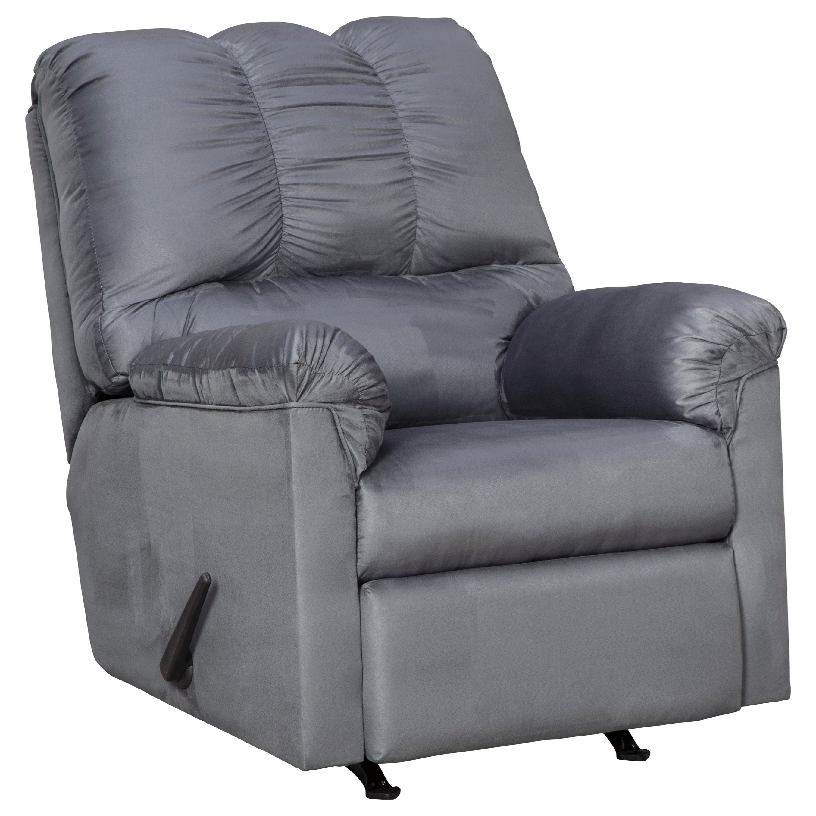 Darcy - Steel Rocker Recliner by Signature Design by Ashley at Zak's Warehouse Clearance Center