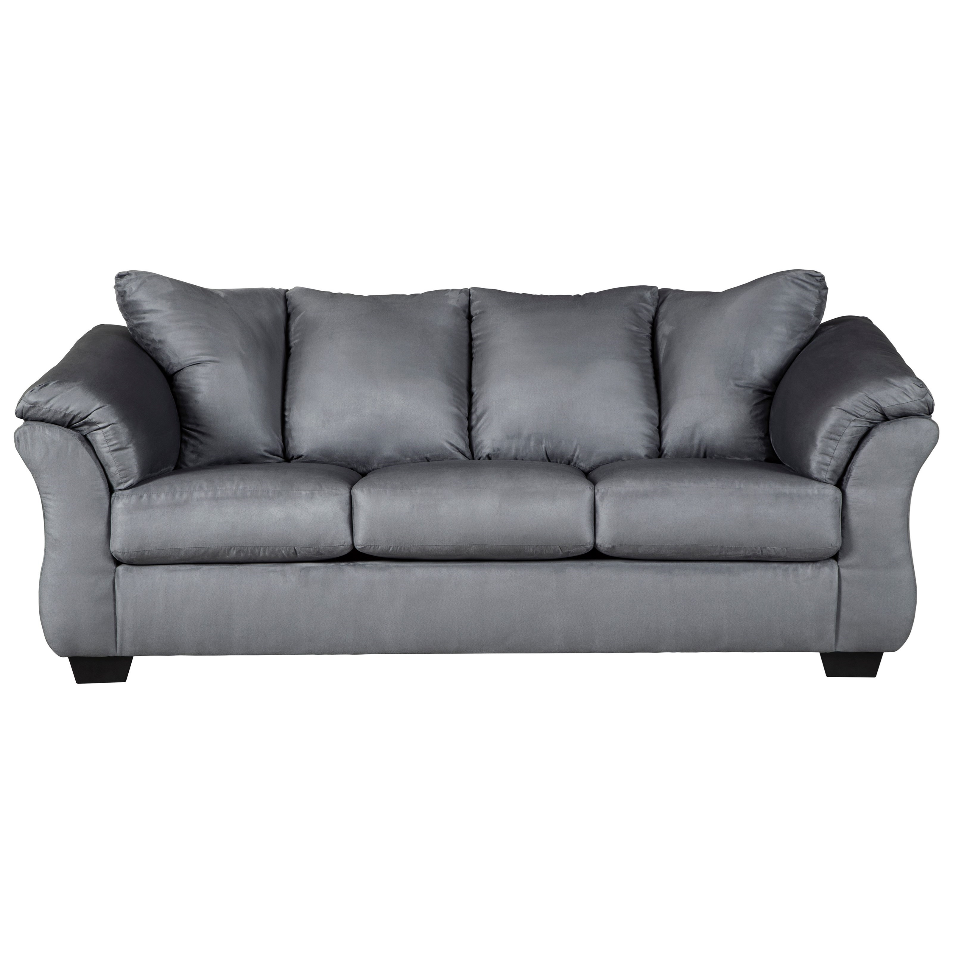 Darcy - Steel Stationary Sofa by Signature Design by Ashley at Rife's Home Furniture