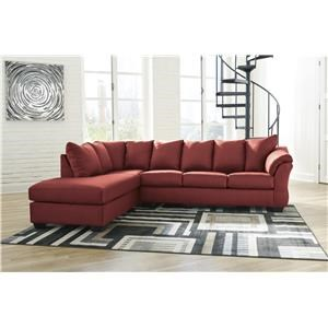 Chaise Sofa and Recliner Set