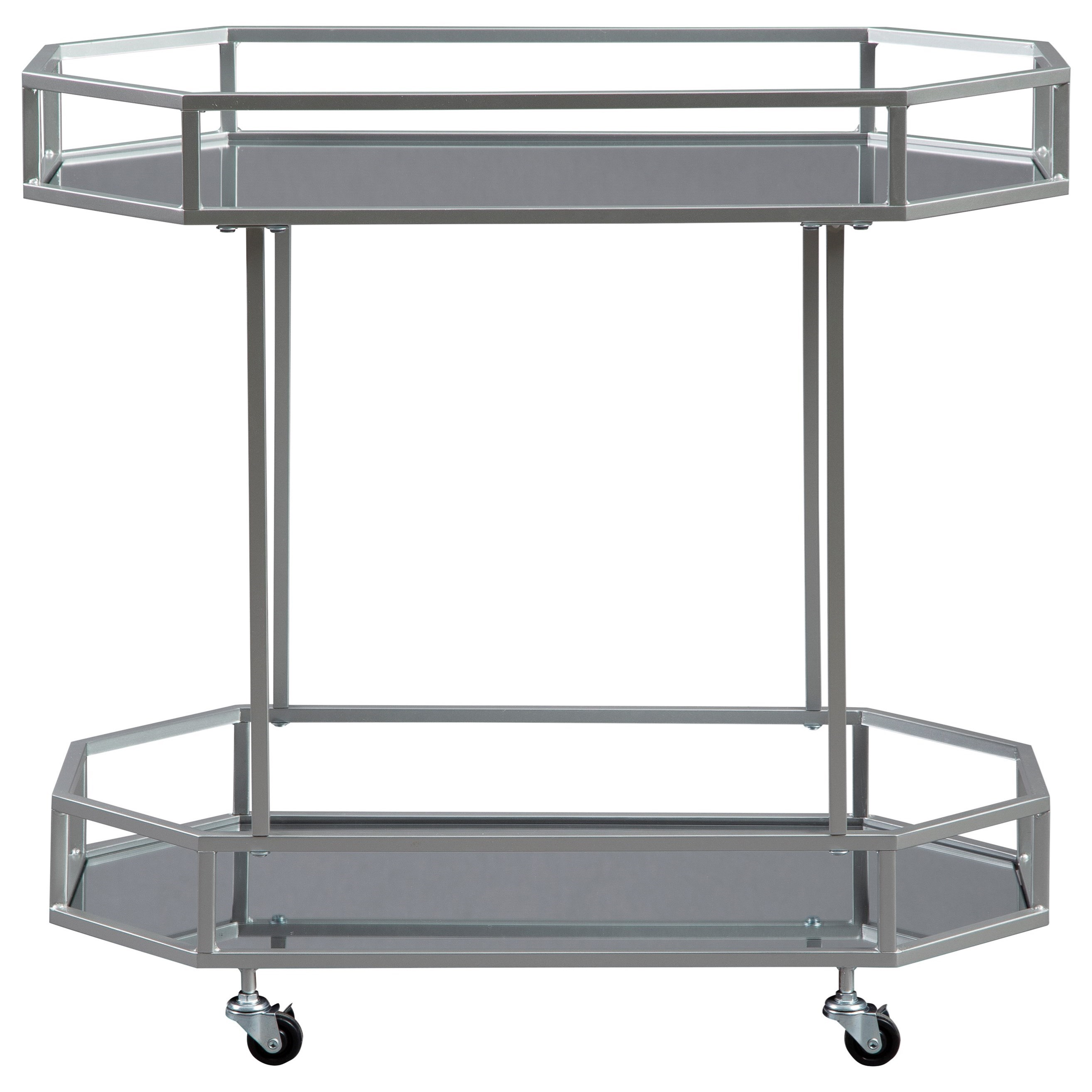 Kadinburg Bar Cart by Signature Design by Ashley at HomeWorld Furniture